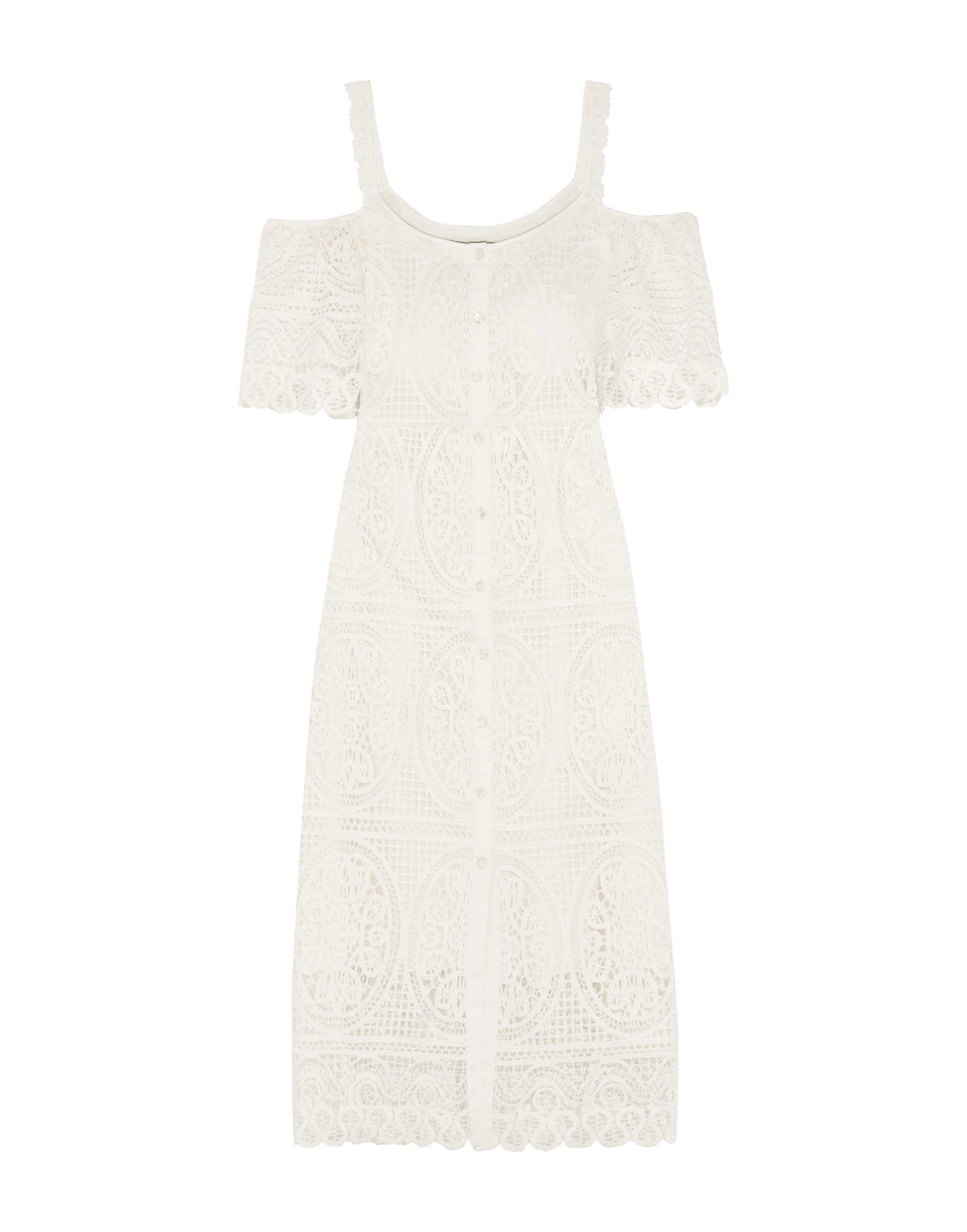 Blanc Temperley Lyst Robe 34 De Longueur En London 0THT1x6n