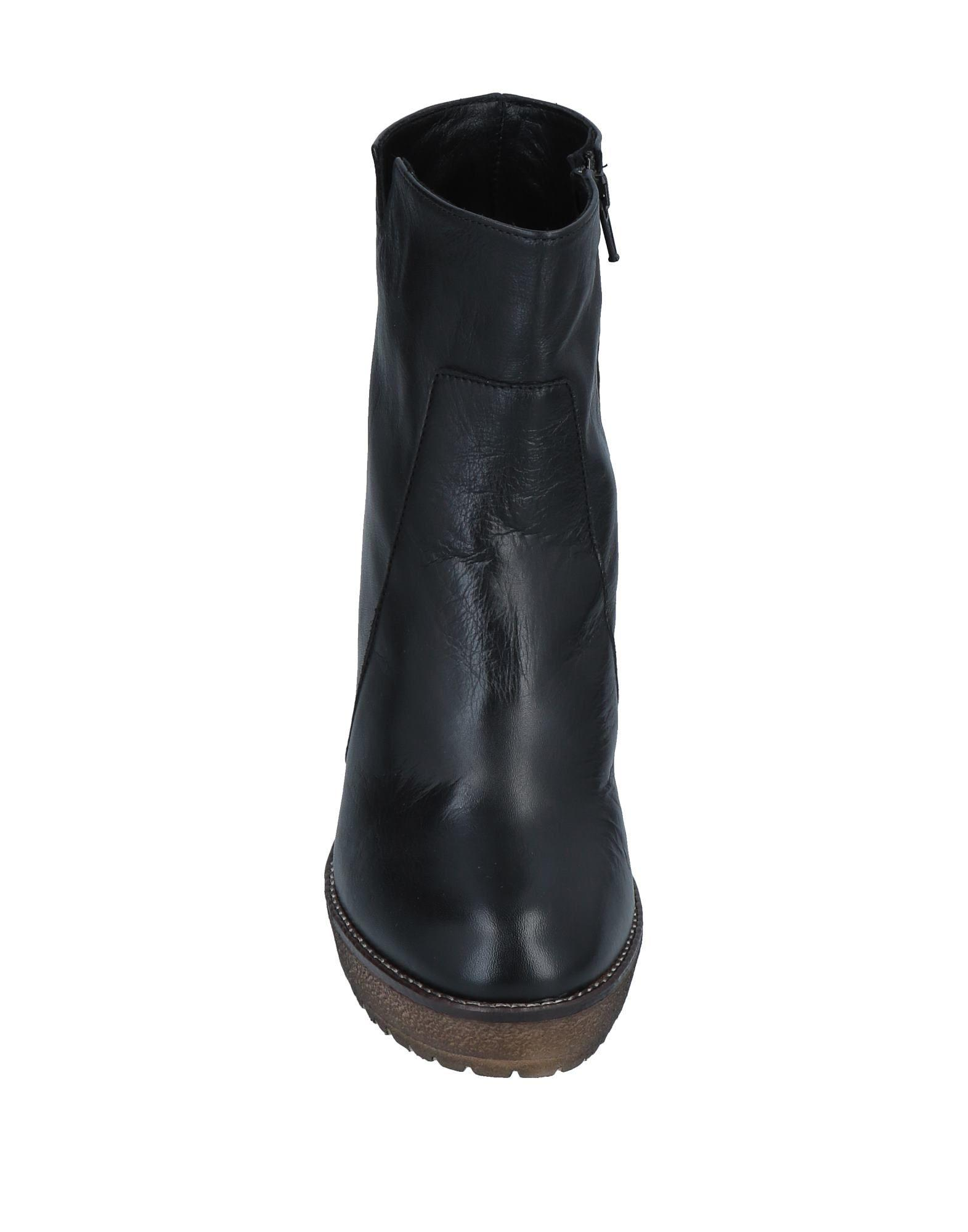 Botines de caña alta Emanuela Passeri de color Negro