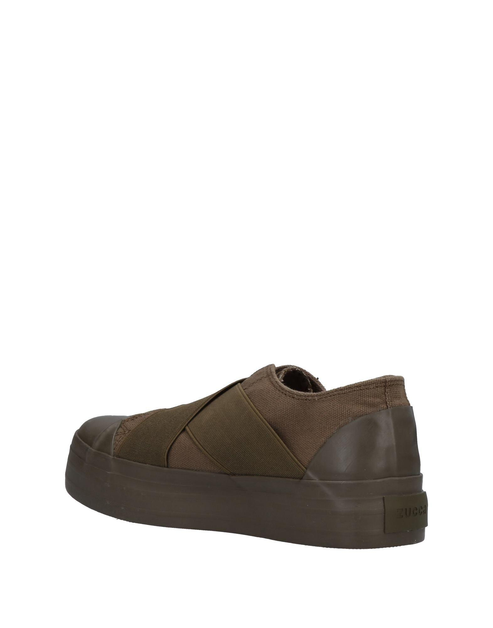 Zucca Canvas Low-tops & Sneakers in Military Green (Green)