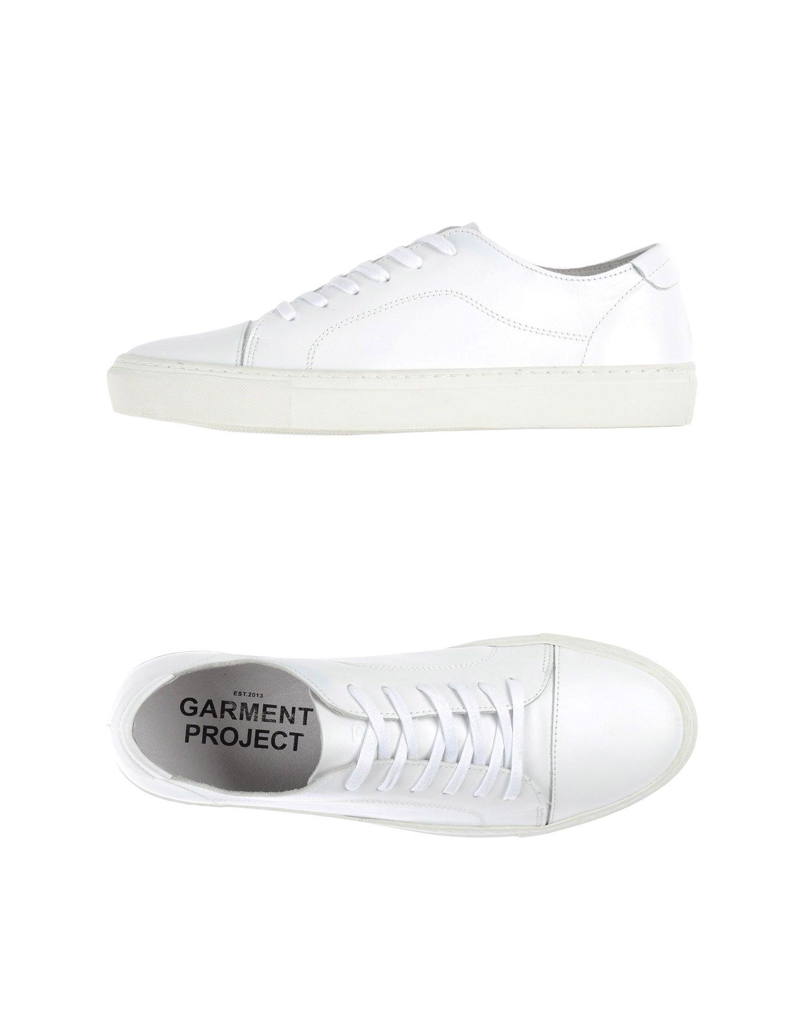 Garment Project Leather Low-tops