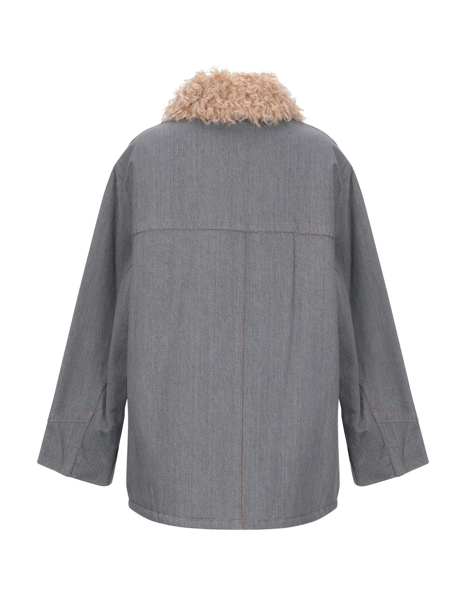Manteau en jean Jean Marc Jacobs en coloris Gris qK1xc