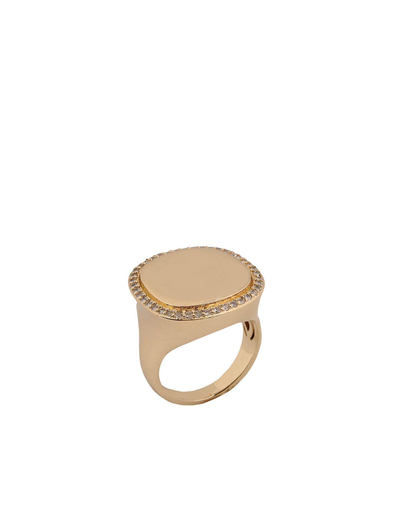 Federica Tosi rectangular shaped ring - Metallic Zu3Ytm