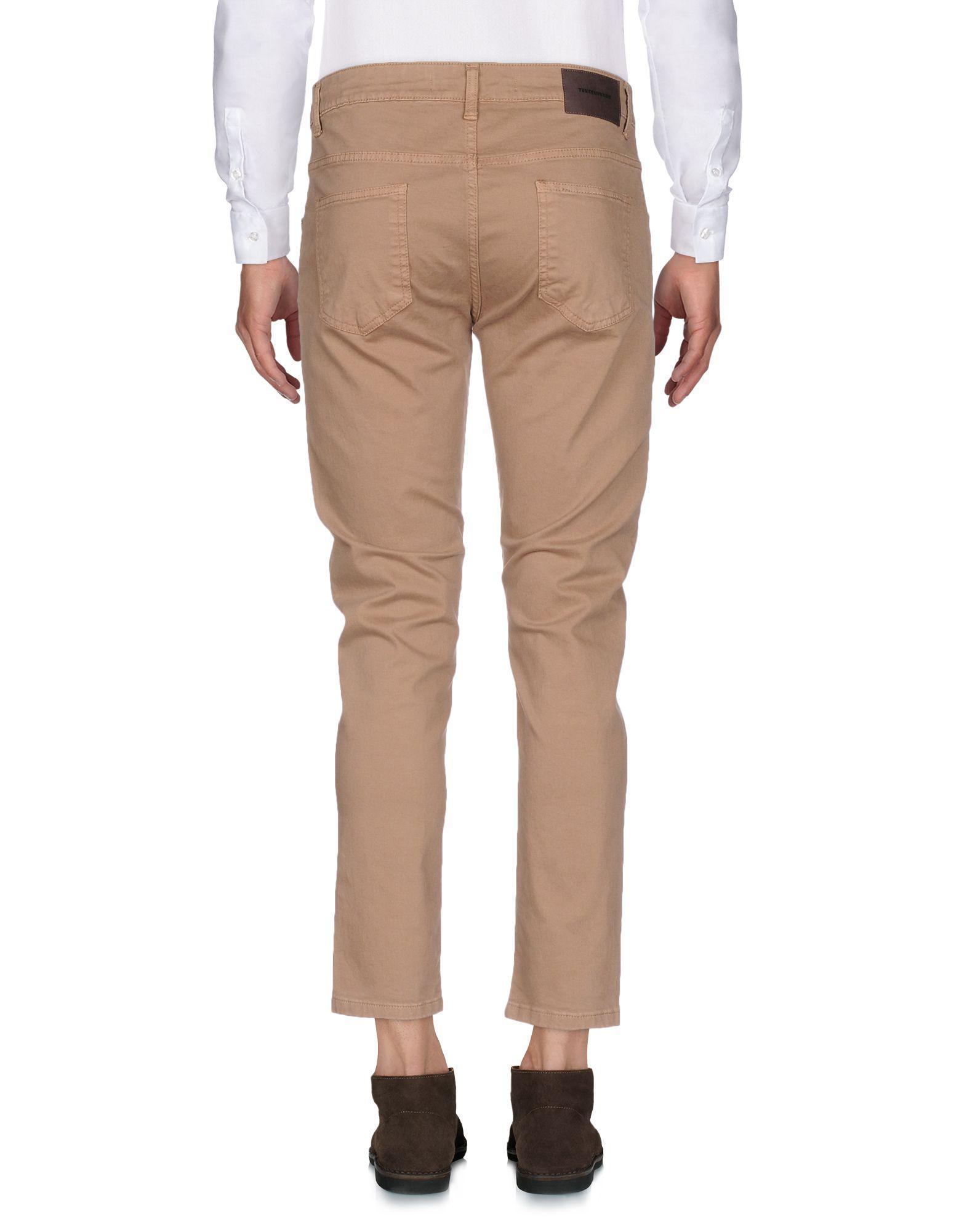 Takeshy Kurosawa Cotton Casual Trouser in Brown for Men