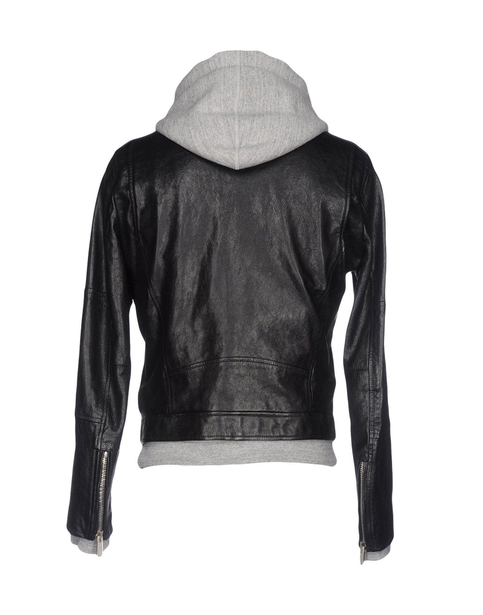 DSquared² Fleece Jacket in Black for Men