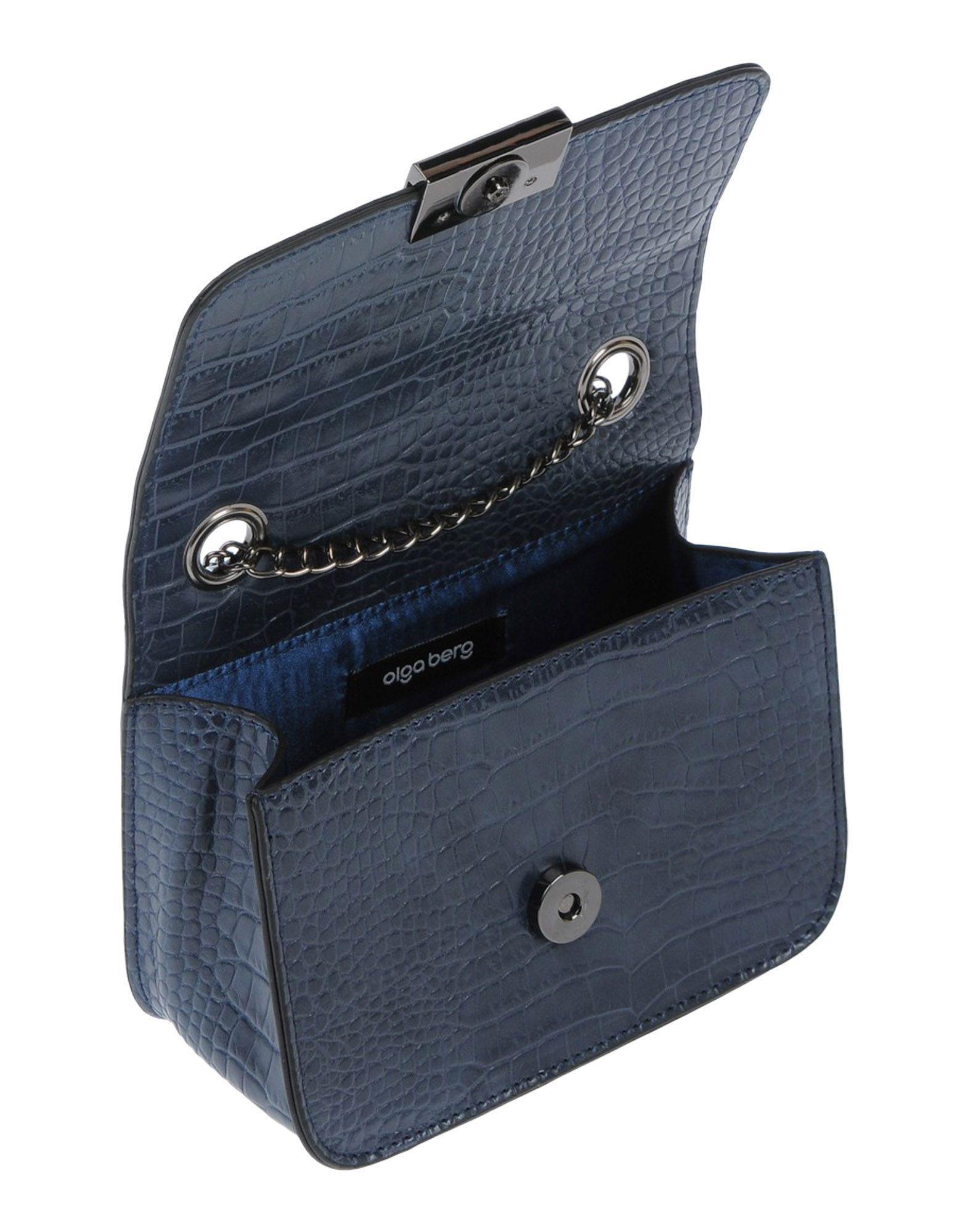 OLGA BERG Cross-body Bag in Dark Blue (Blue)