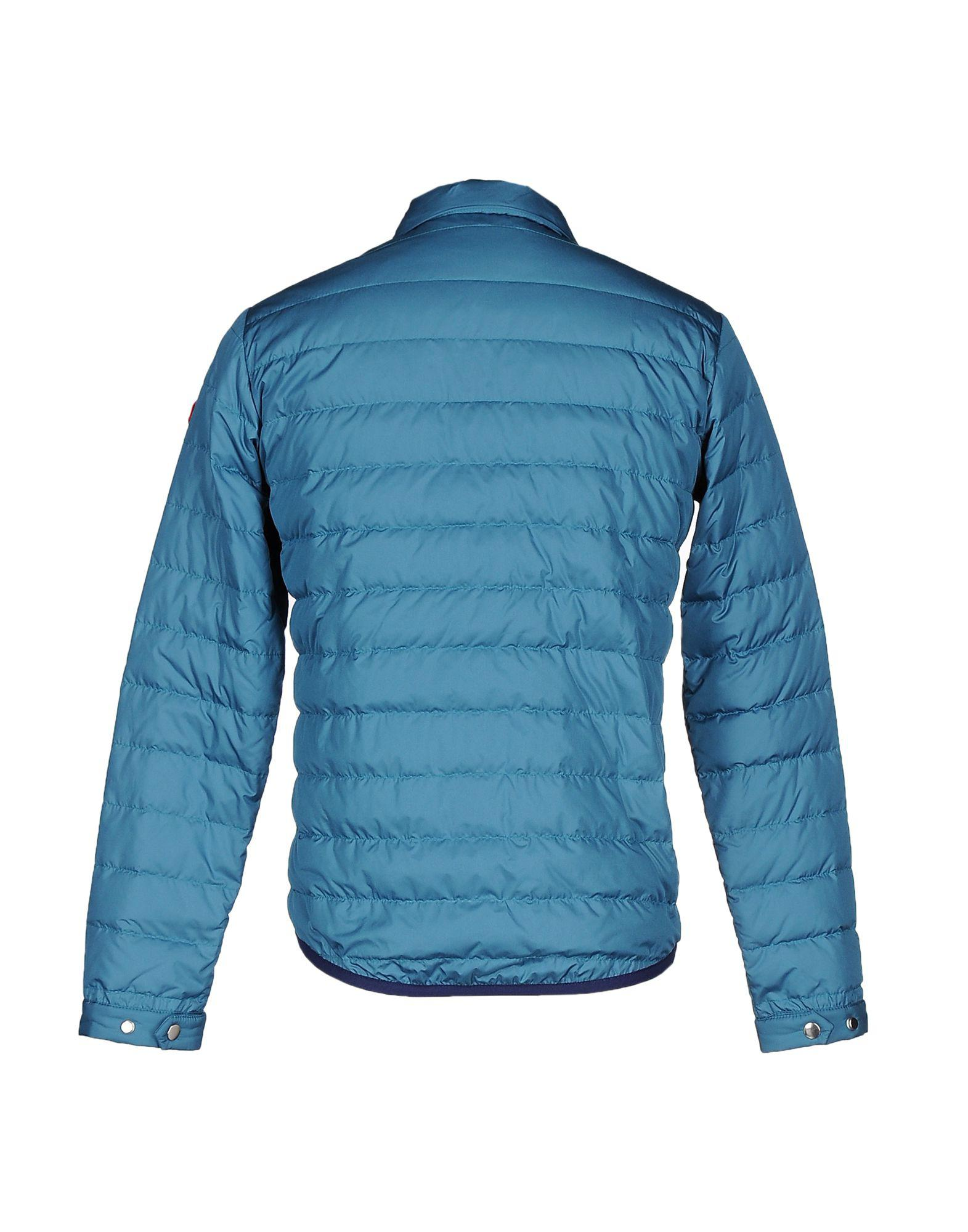 Stell Bayrem Goose Down Jacket in Deep Jade (Blue) for Men