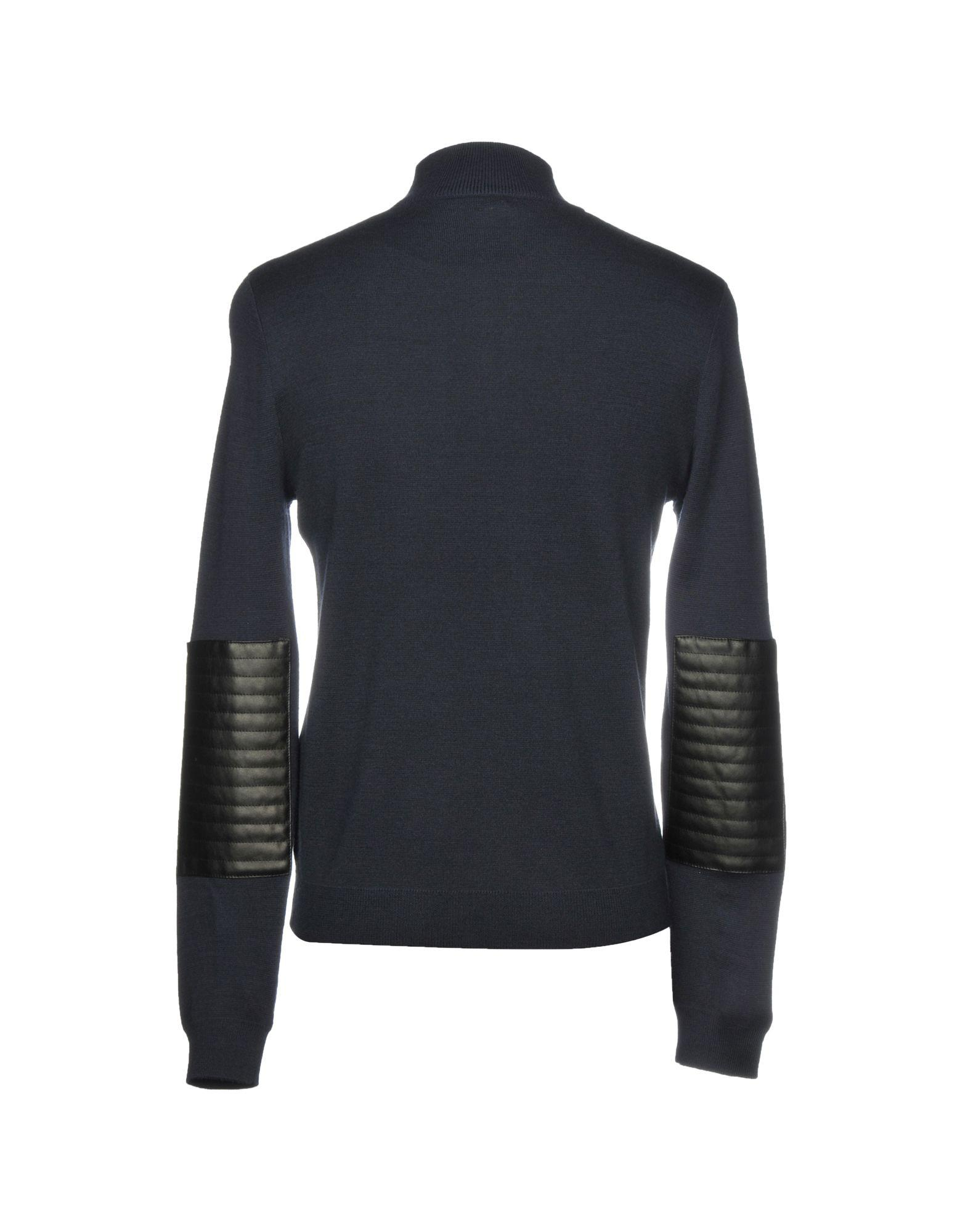 Versace Jeans Couture Synthetic Turtleneck in Dark Blue (Blue) for Men