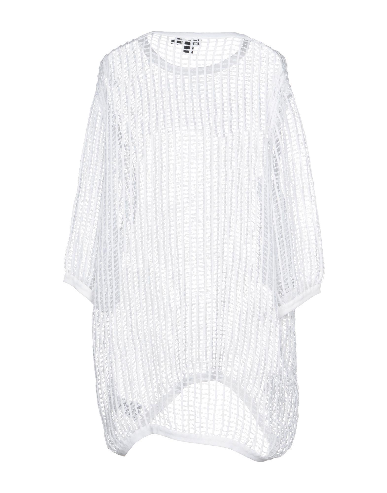 78c385ff5f8 Lyst - DKNY Jumper in White