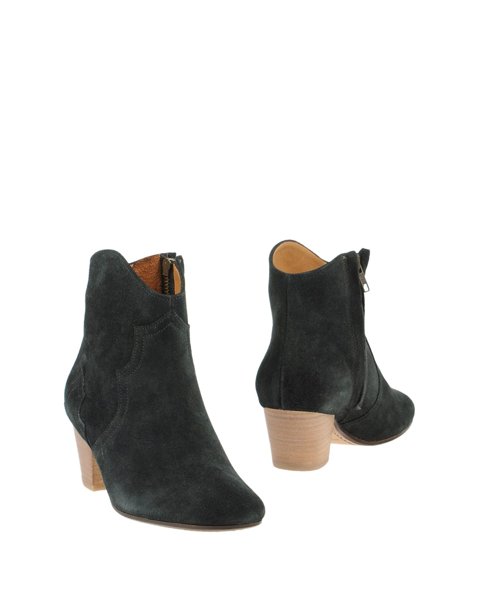 toile isabel marant ankle boots in black lyst. Black Bedroom Furniture Sets. Home Design Ideas