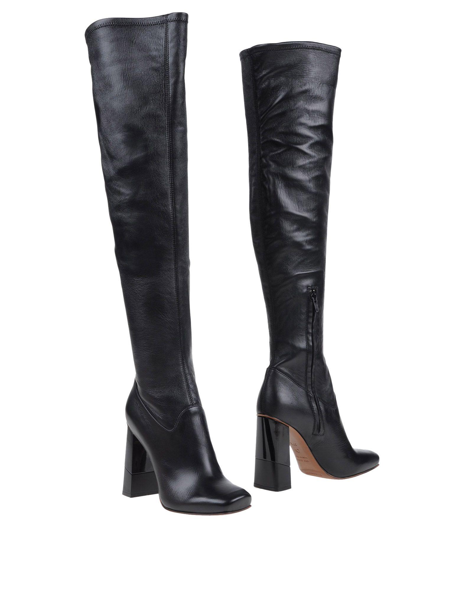Lyst L Autre Chose Boots In Black