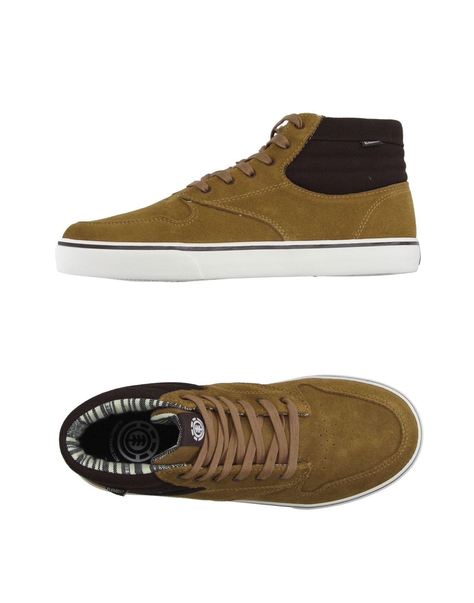 Element High-tops & Trainers in Yellow for Men (Sand) | Lyst