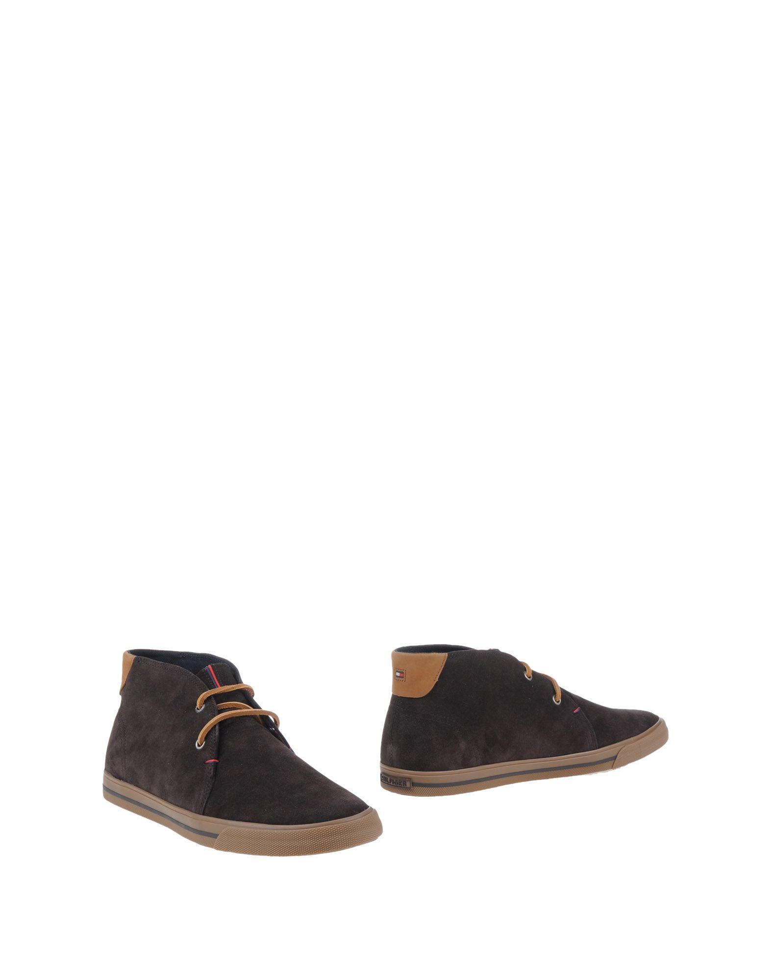 tommy hilfiger ankle boots in brown for men dark brown lyst. Black Bedroom Furniture Sets. Home Design Ideas