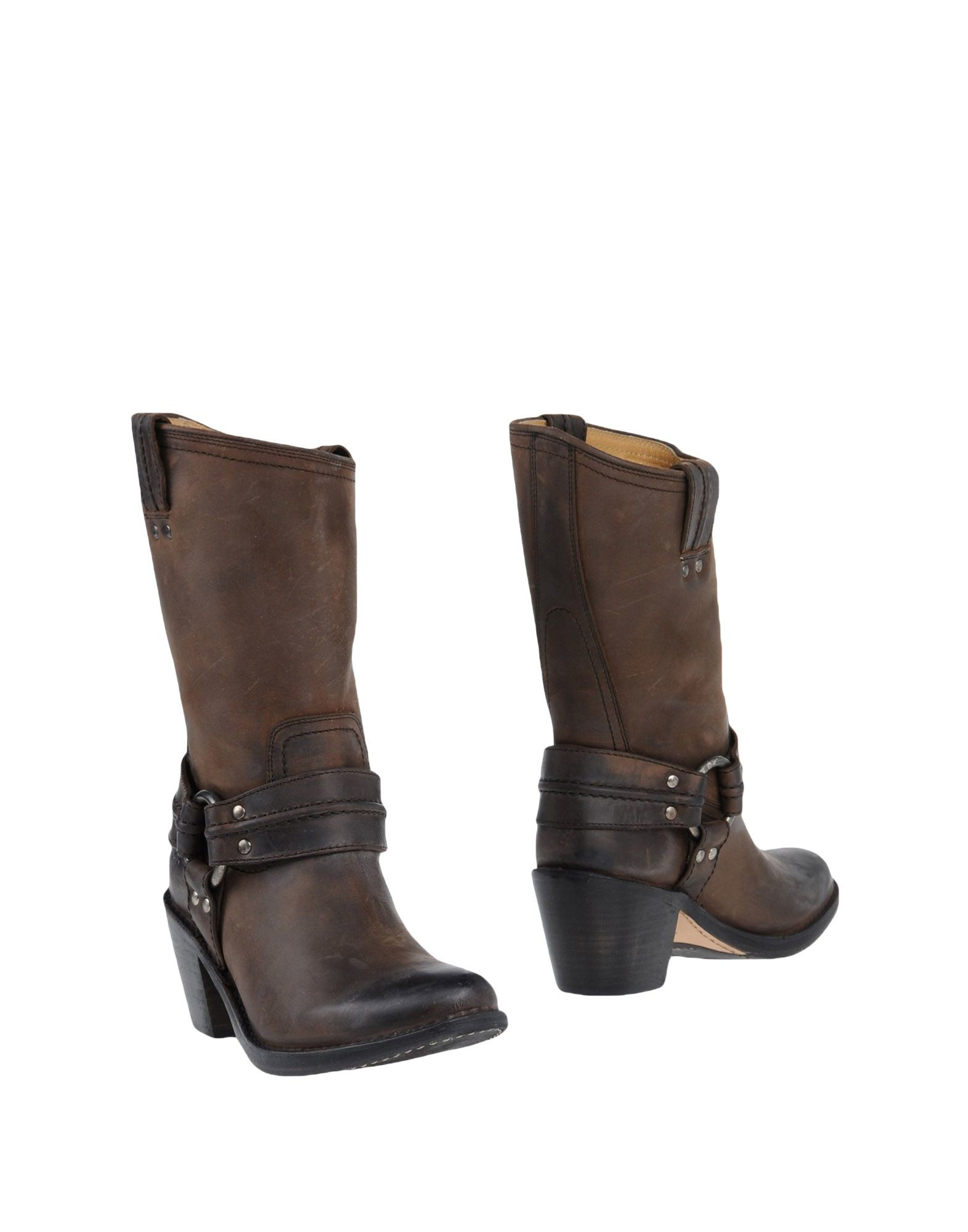 Awesome Frye Ankle Boots In Brown Khaki  Lyst