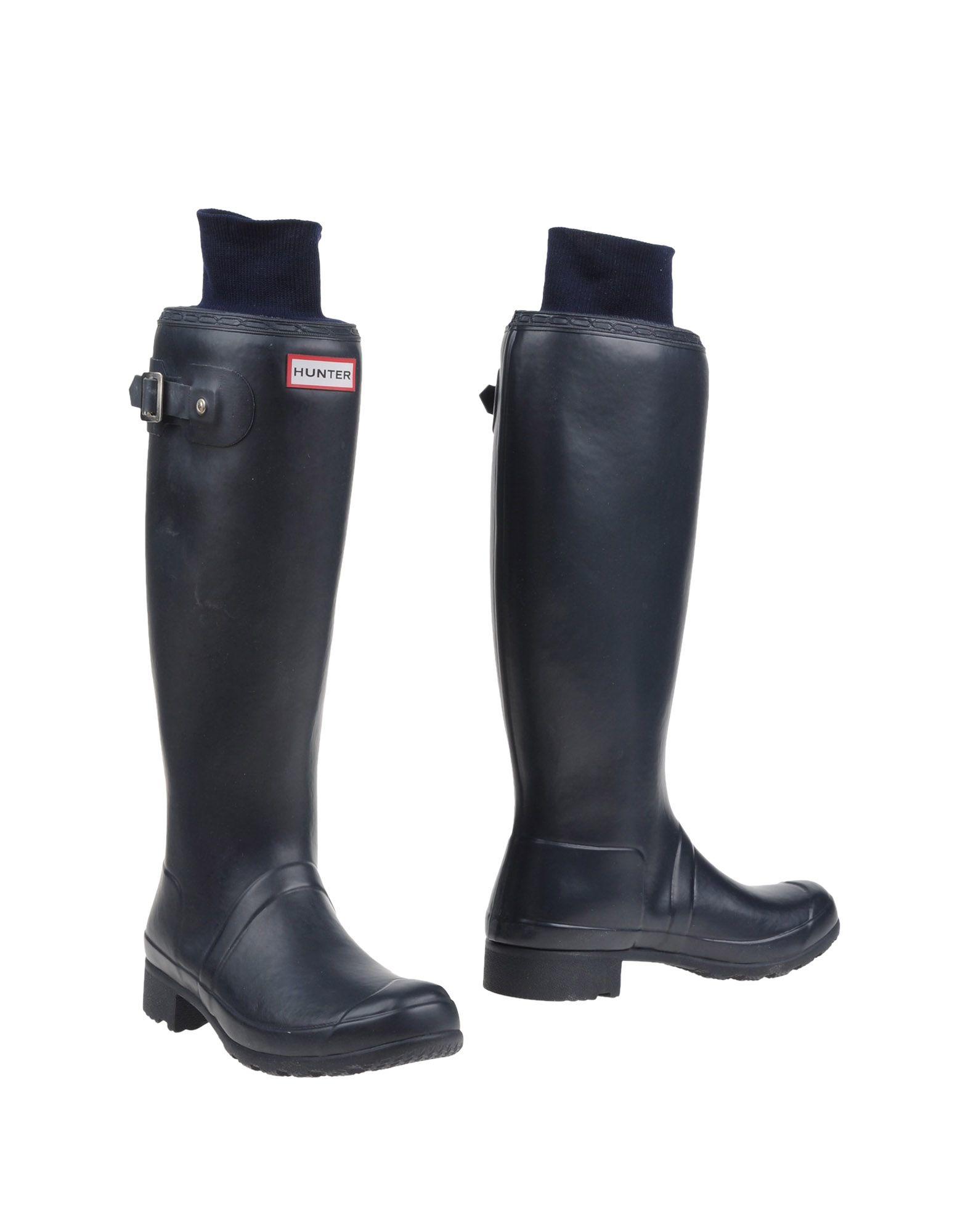 Hunter Boots in Blue (Dark blue) | Lyst