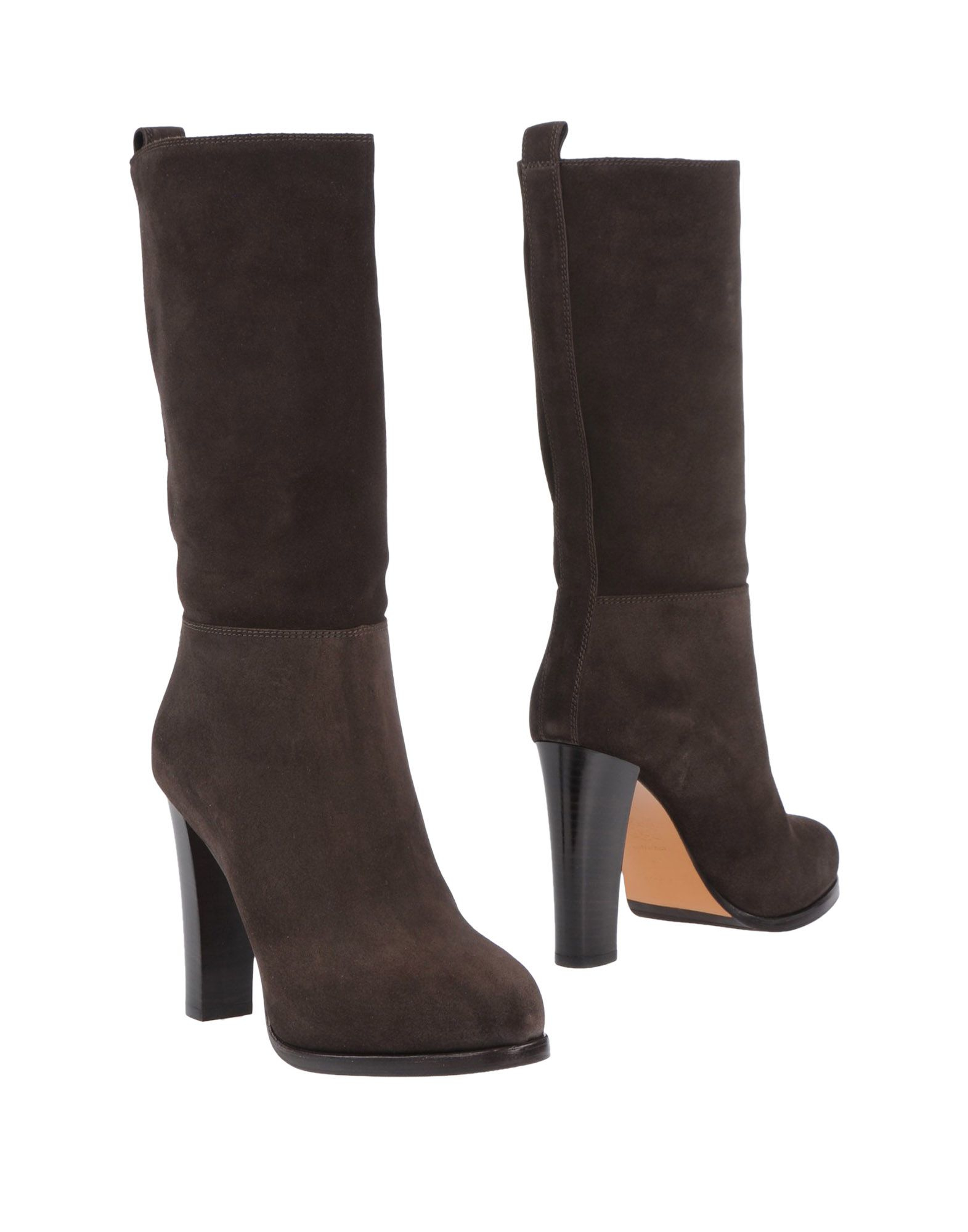 bruno magli boots in brown lyst