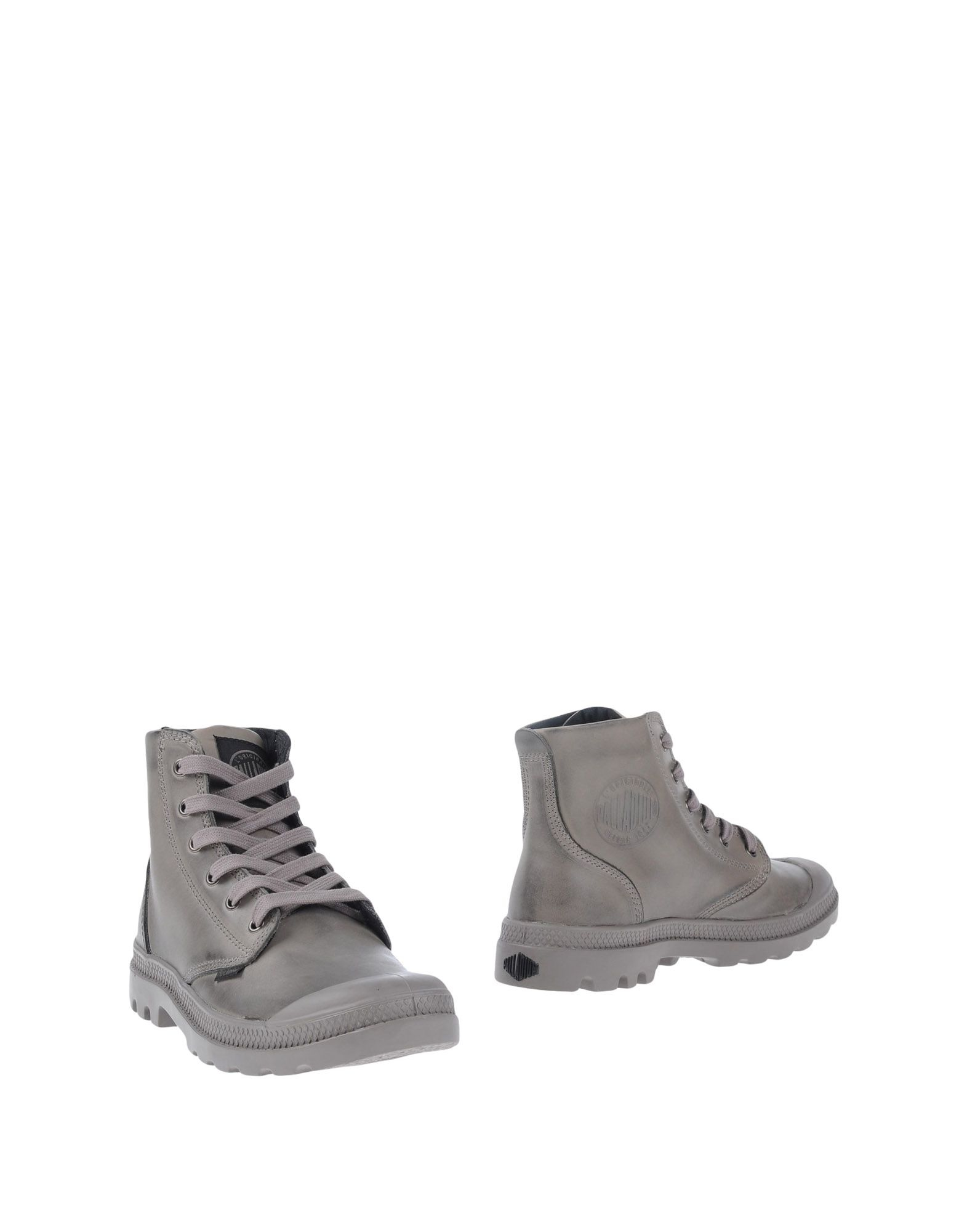 Brilliant  Outfitters Palladium Pampa Sport Cuff Boots In Grey In Gray Grey