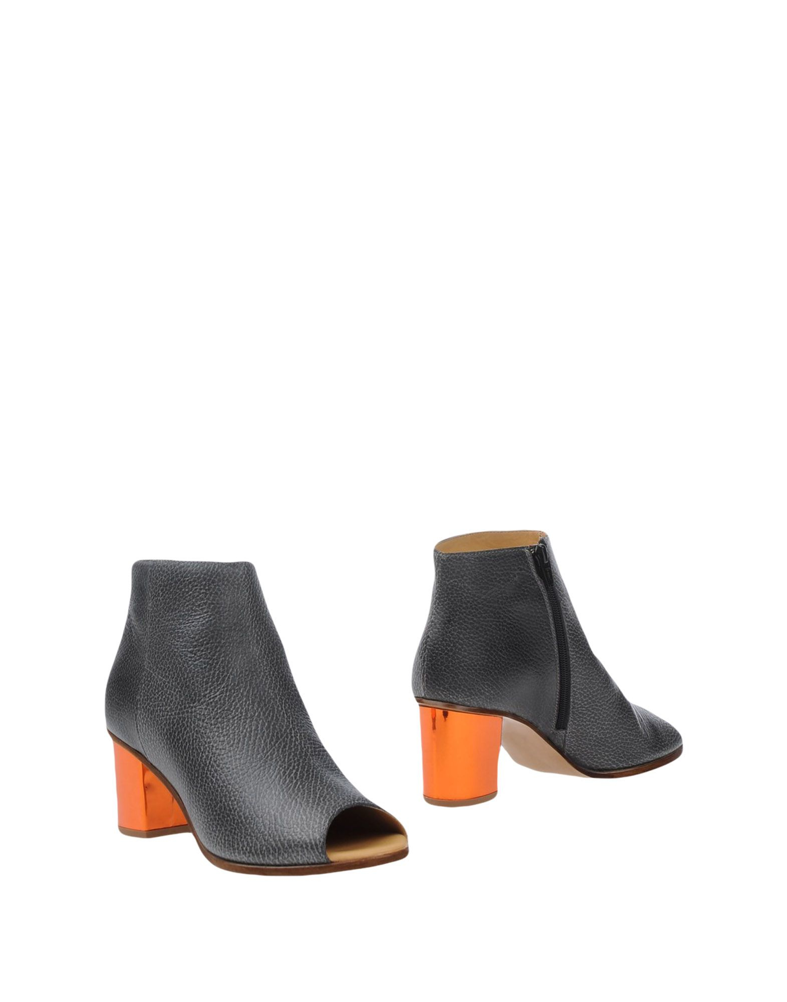 Mm6 by maison martin margiela ankle boots in gray lead for Mm6 maison martin margiela