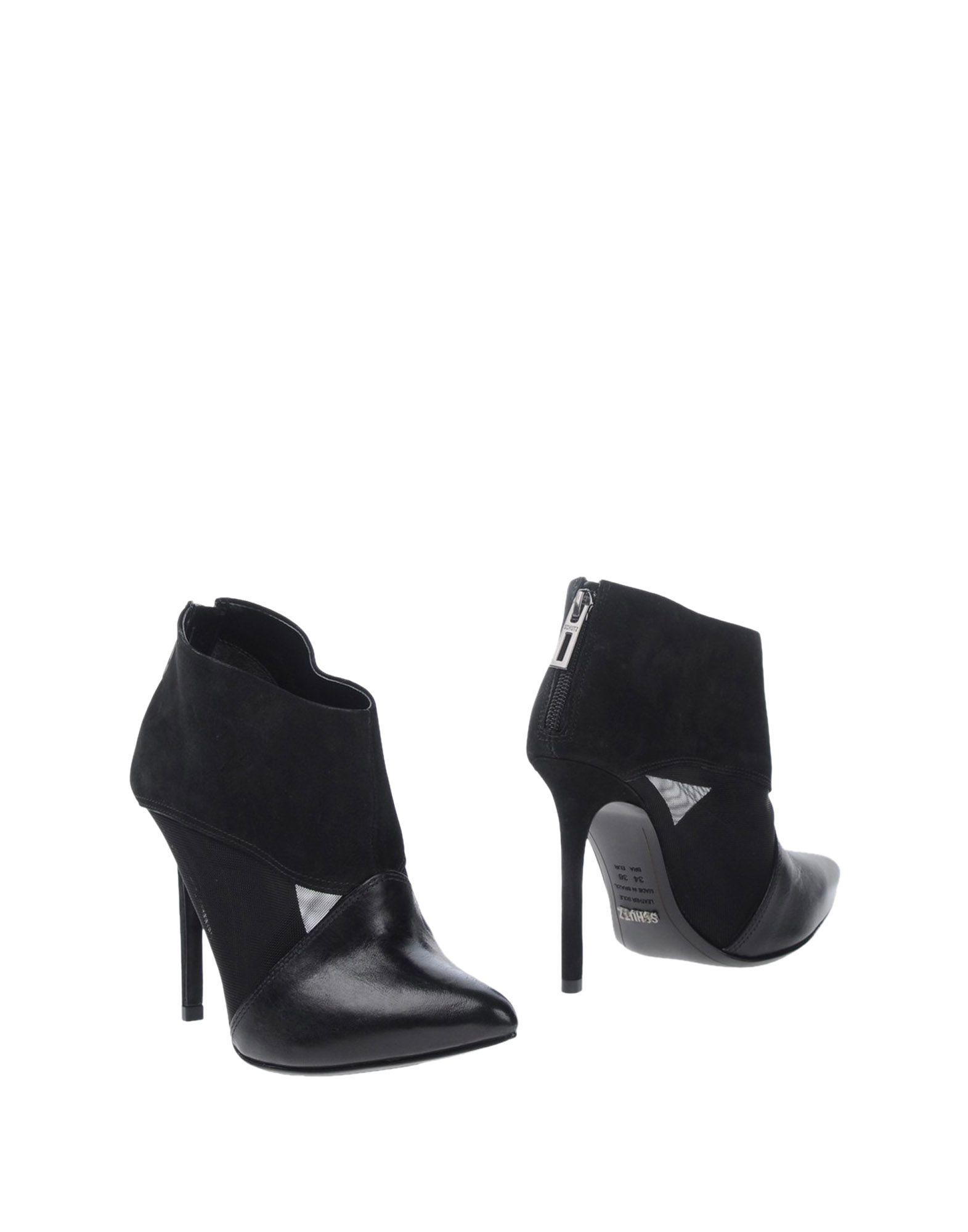 schutz shoe boots in black lyst
