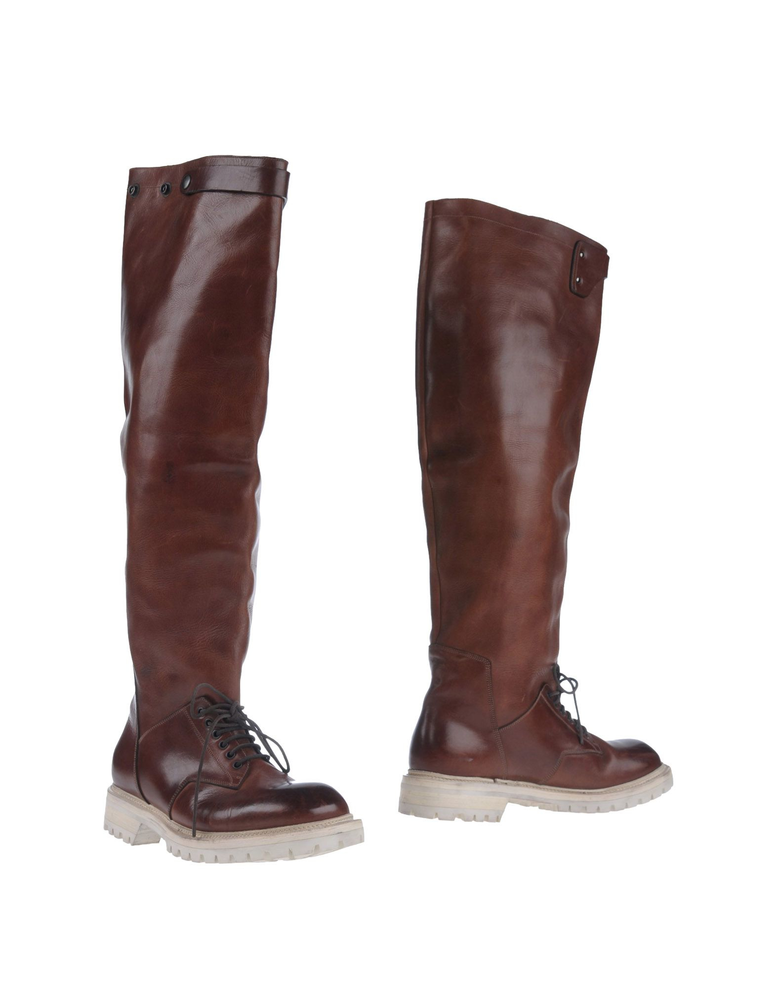 rick owens boots in brown for lyst