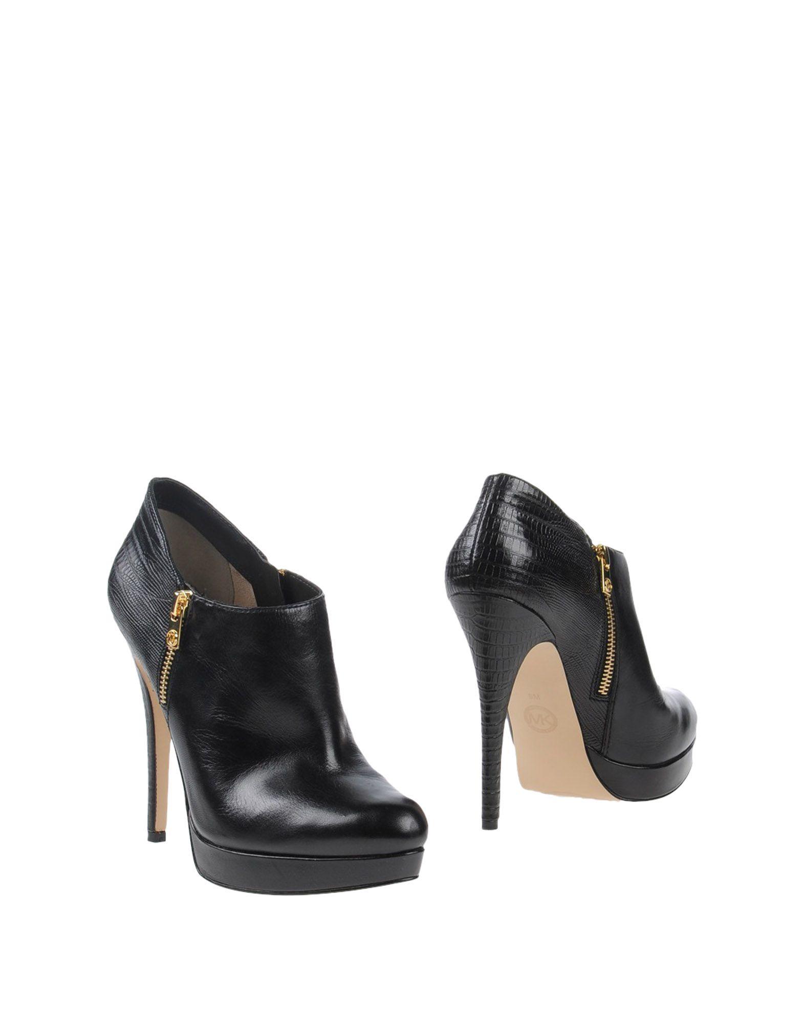 michael michael kors shoe boots in black lyst