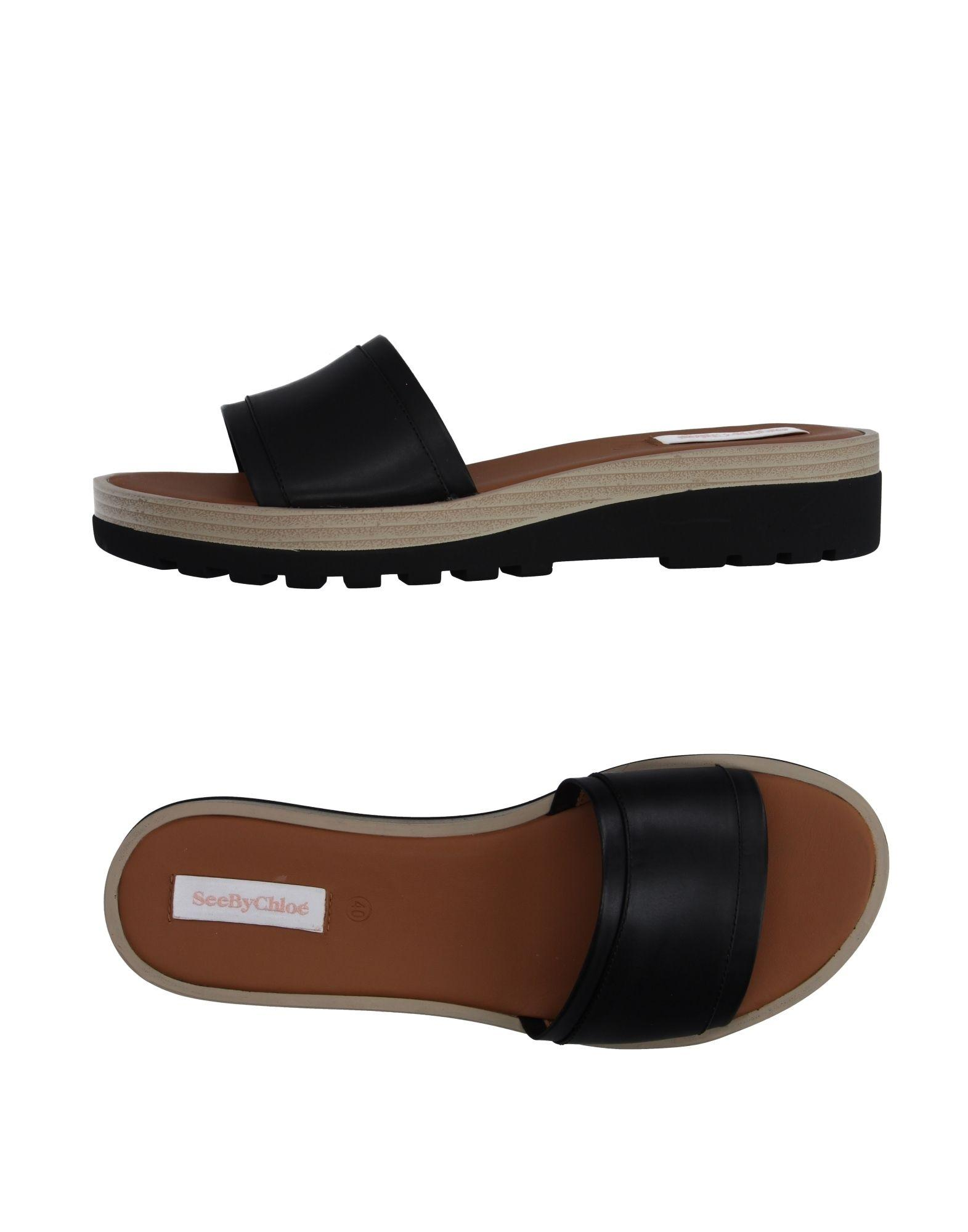 Lyst See By Chlo 233 Sandals In Black