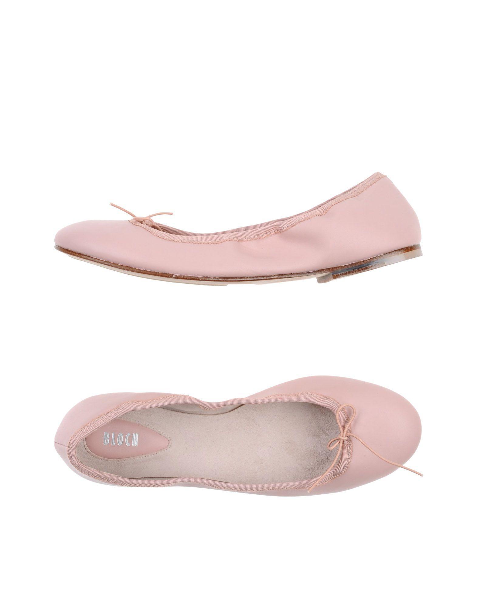 Bloch White Ballet Shoes