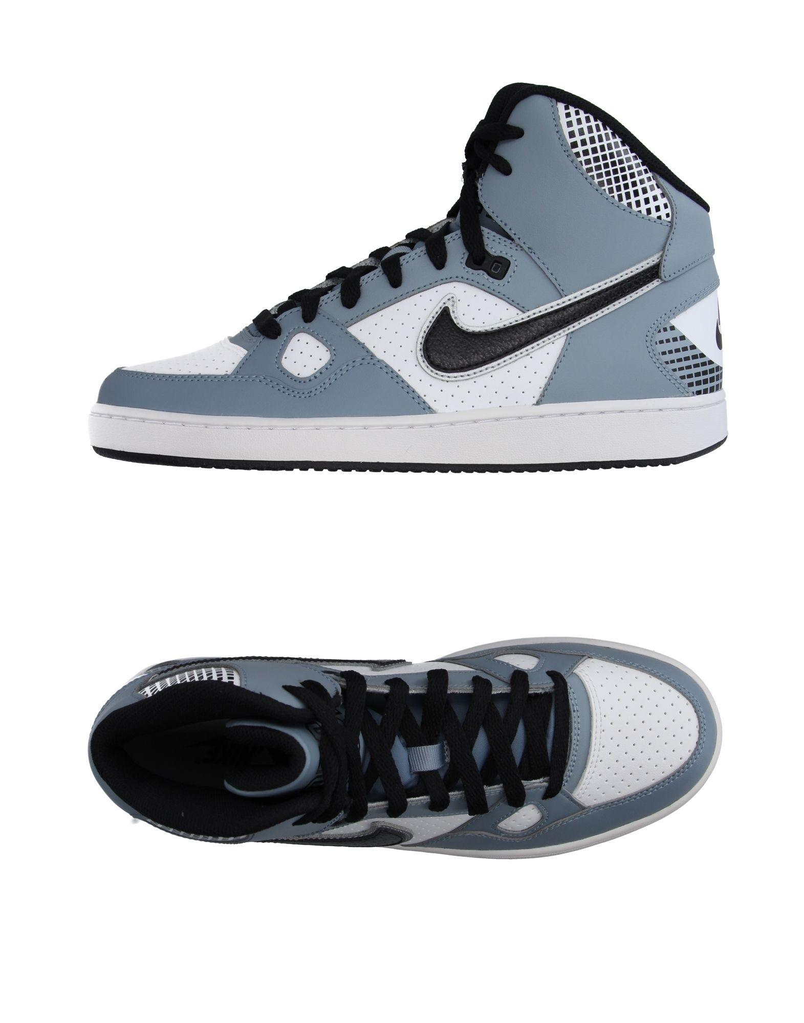 Nike High-tops & Sneakers in Gray for Men | Lyst