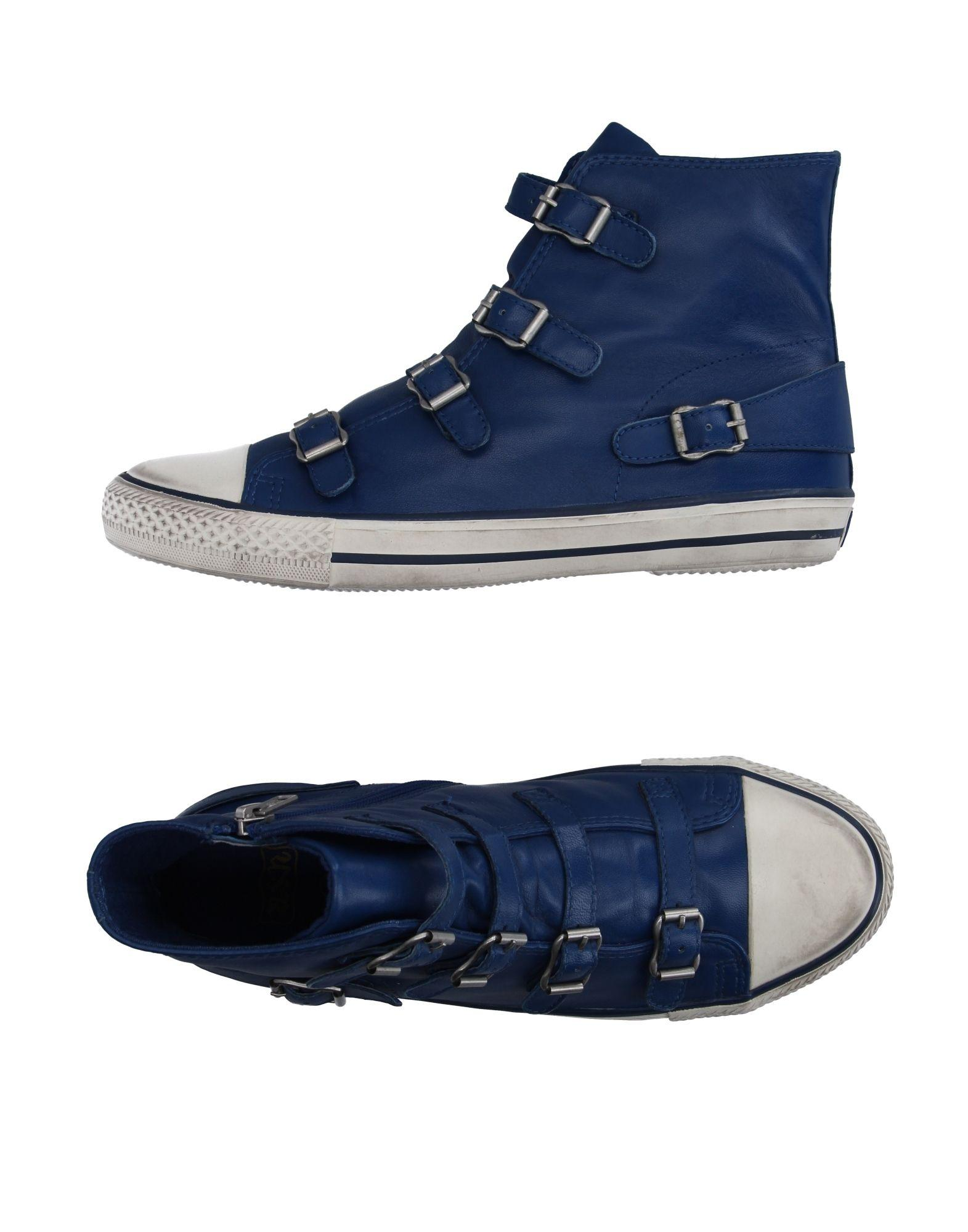 ash high tops sneakers in blue lyst. Black Bedroom Furniture Sets. Home Design Ideas