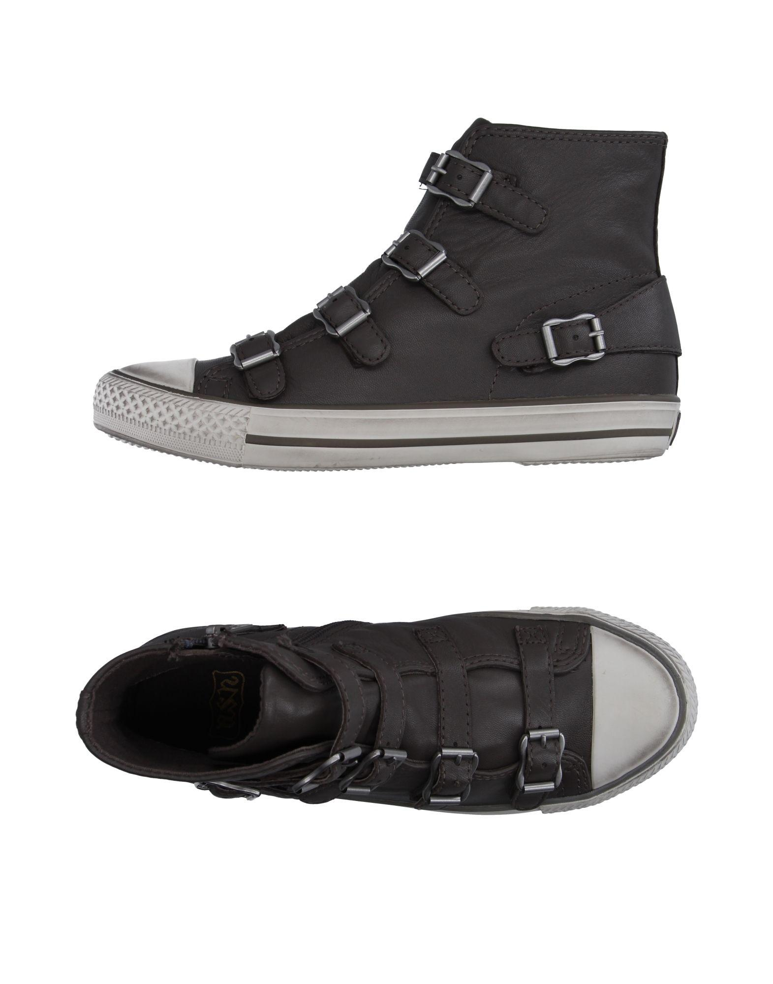 ash high tops sneakers in gray lyst. Black Bedroom Furniture Sets. Home Design Ideas