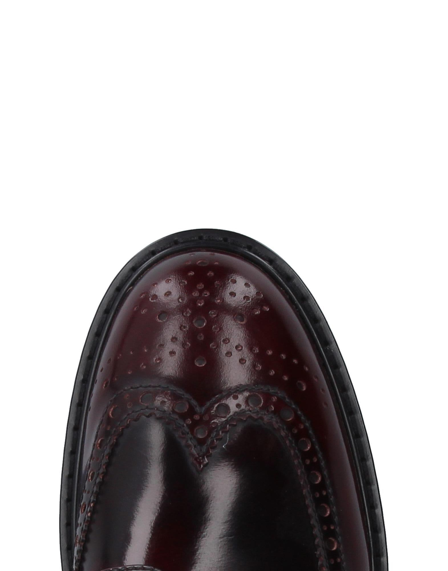 Prada Sport Leather Lace-up Shoe in Maroon (Black) for Men