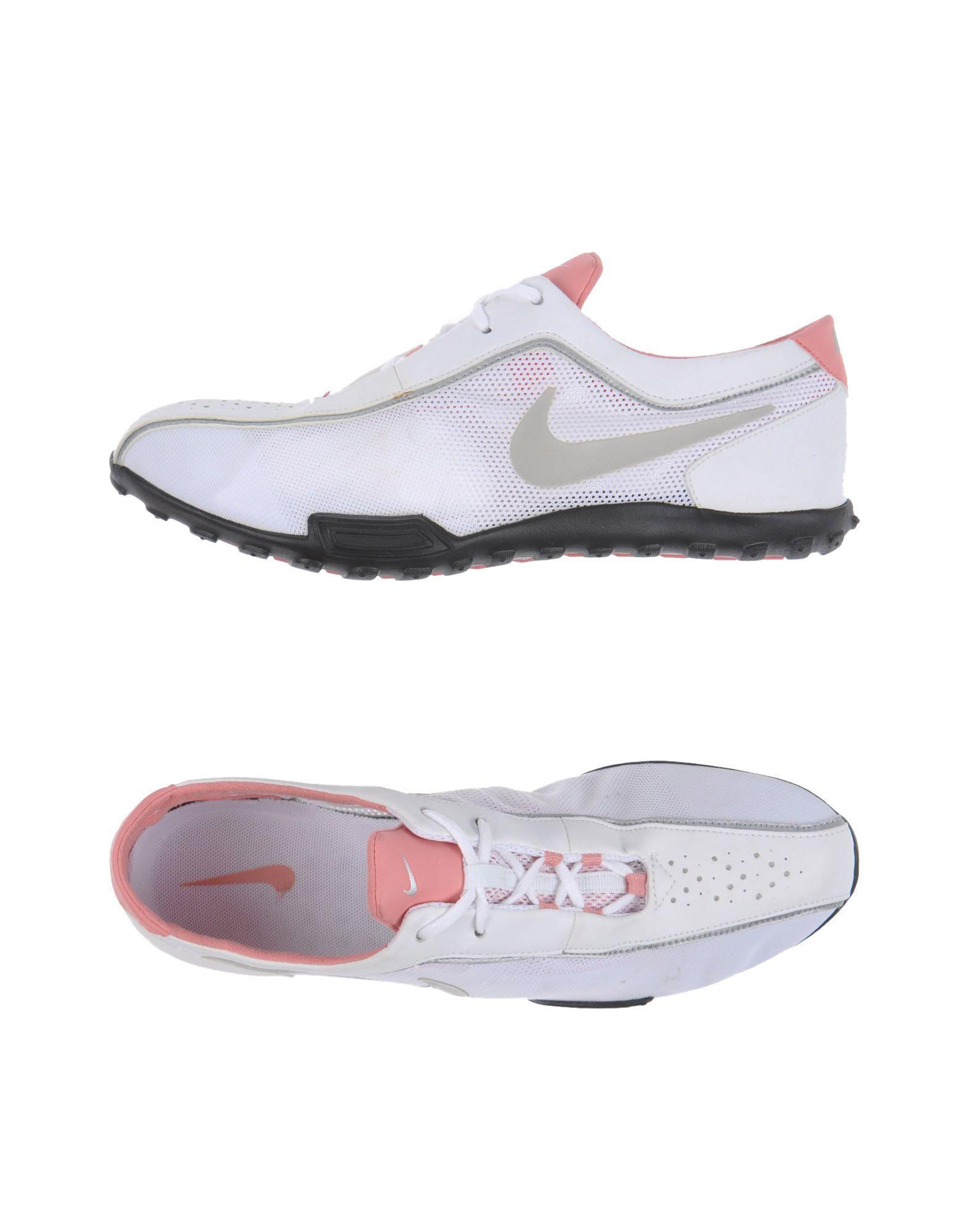 nike low tops sneakers in white lyst
