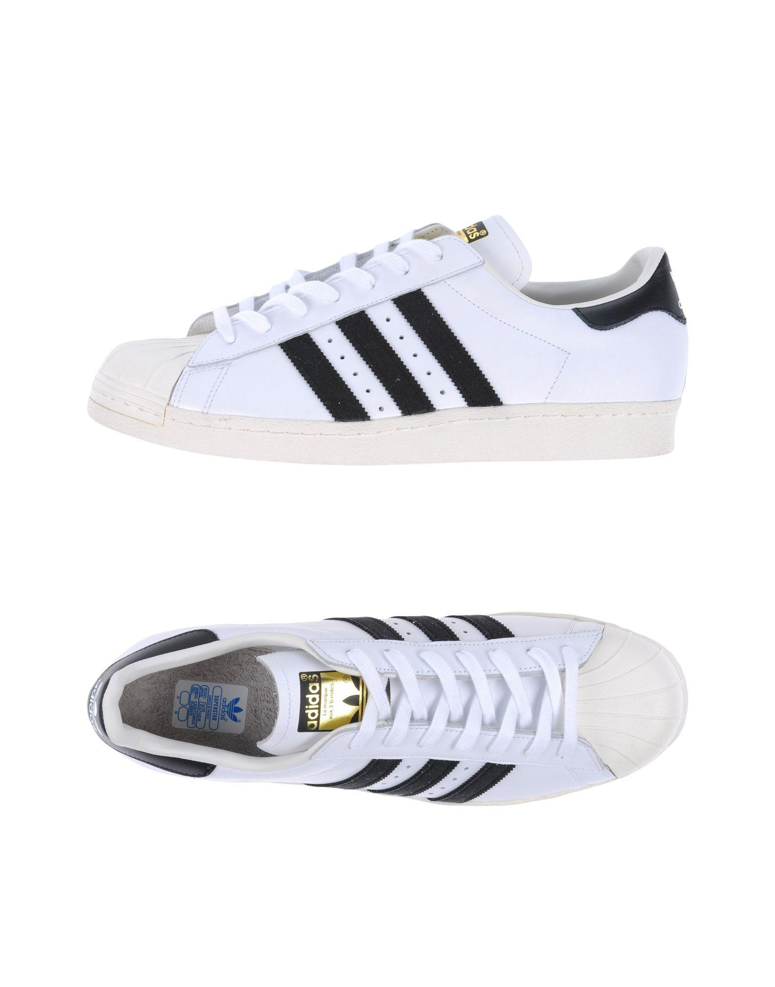 adidas originals low tops sneakers in white for lyst