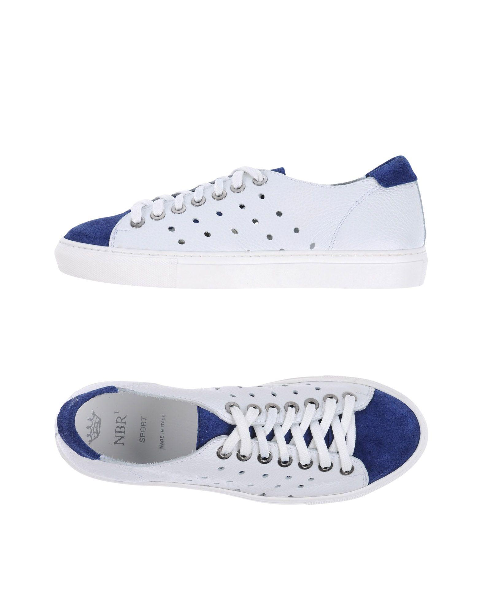 nbr 185 low tops sneakers in white lyst