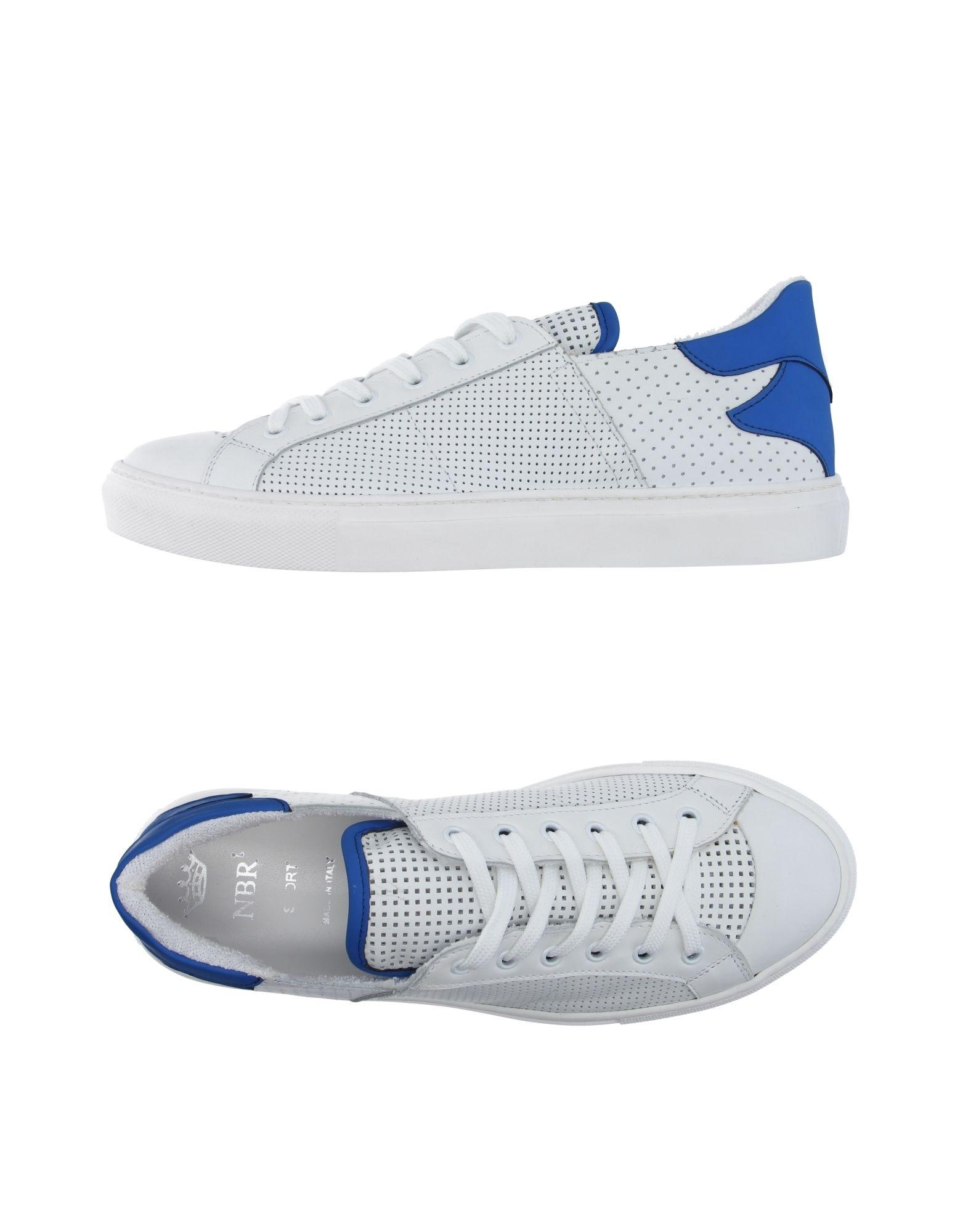 nbr 185 low tops sneakers in white for lyst