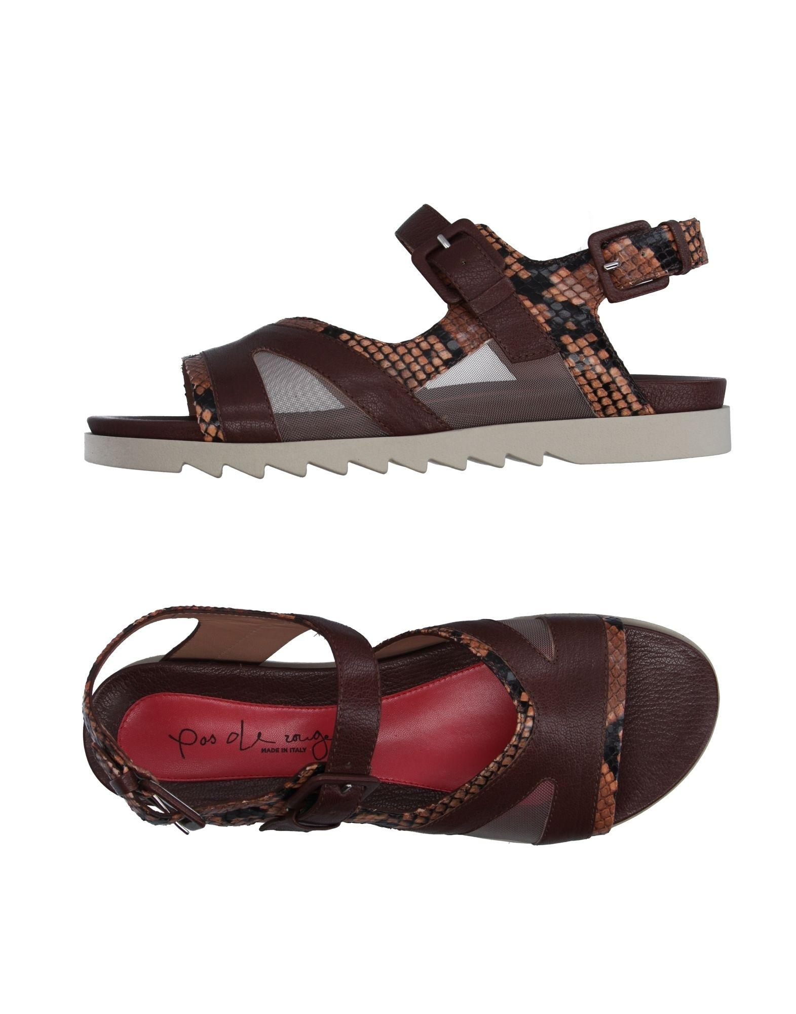 pas de rouge sandals in brown lyst. Black Bedroom Furniture Sets. Home Design Ideas