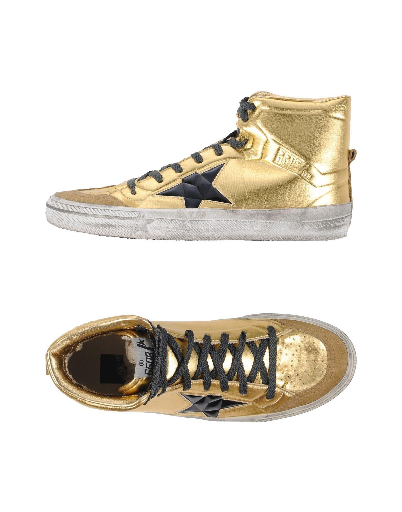 golden goose deluxe brand high tops sneakers lyst. Black Bedroom Furniture Sets. Home Design Ideas