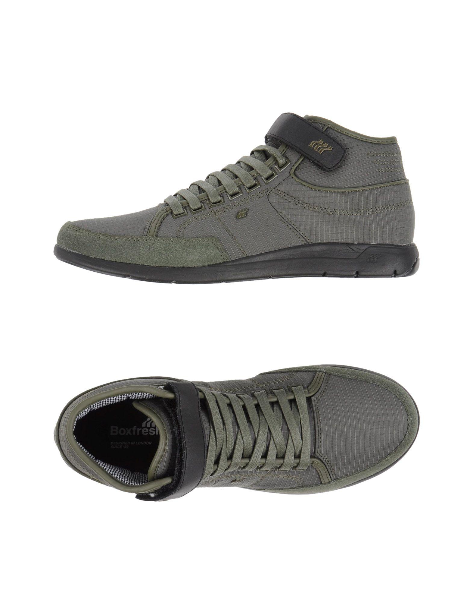 boxfresh high tops sneakers in green for men lyst. Black Bedroom Furniture Sets. Home Design Ideas