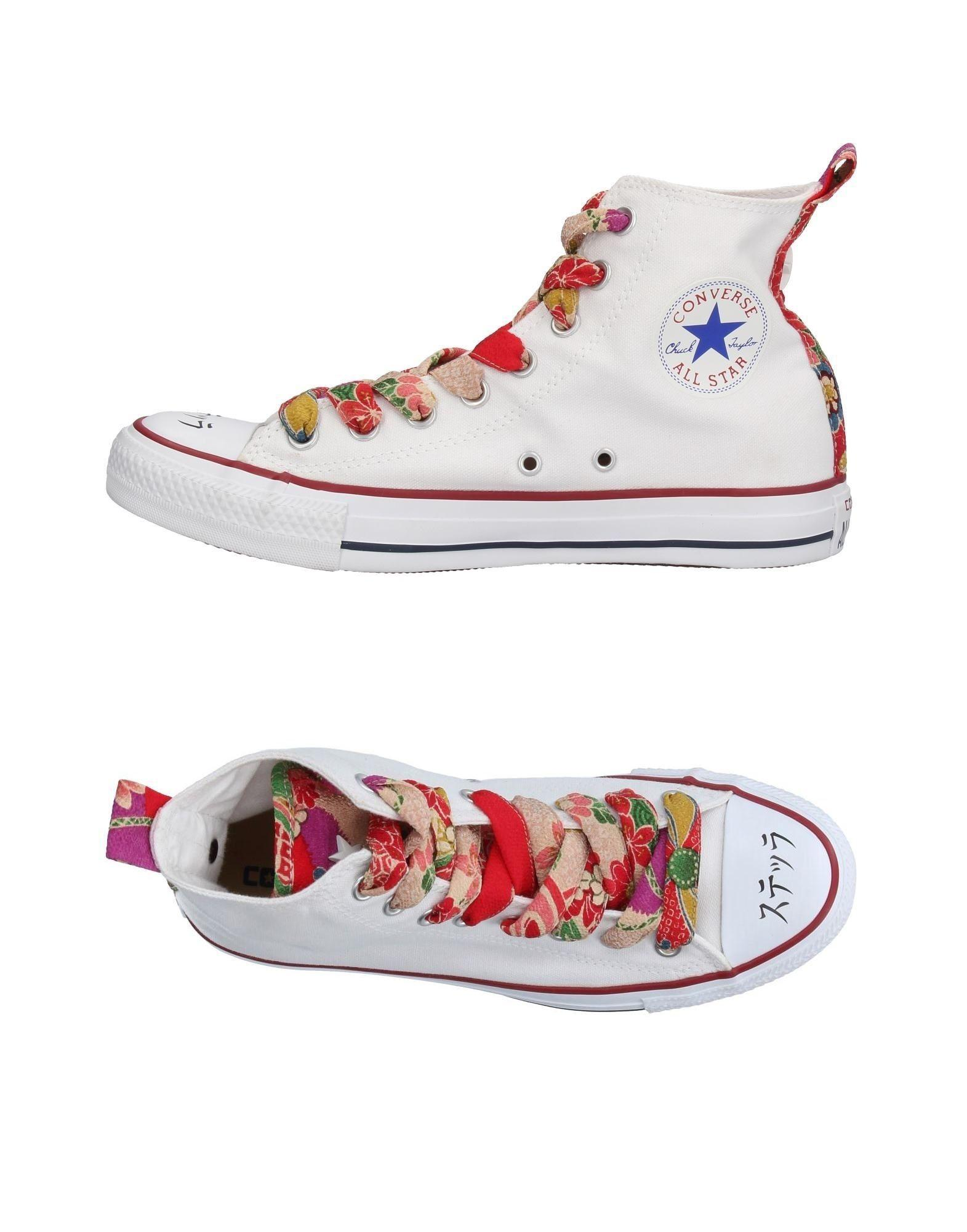 Lyst - Converse High-tops & Sneakers in White