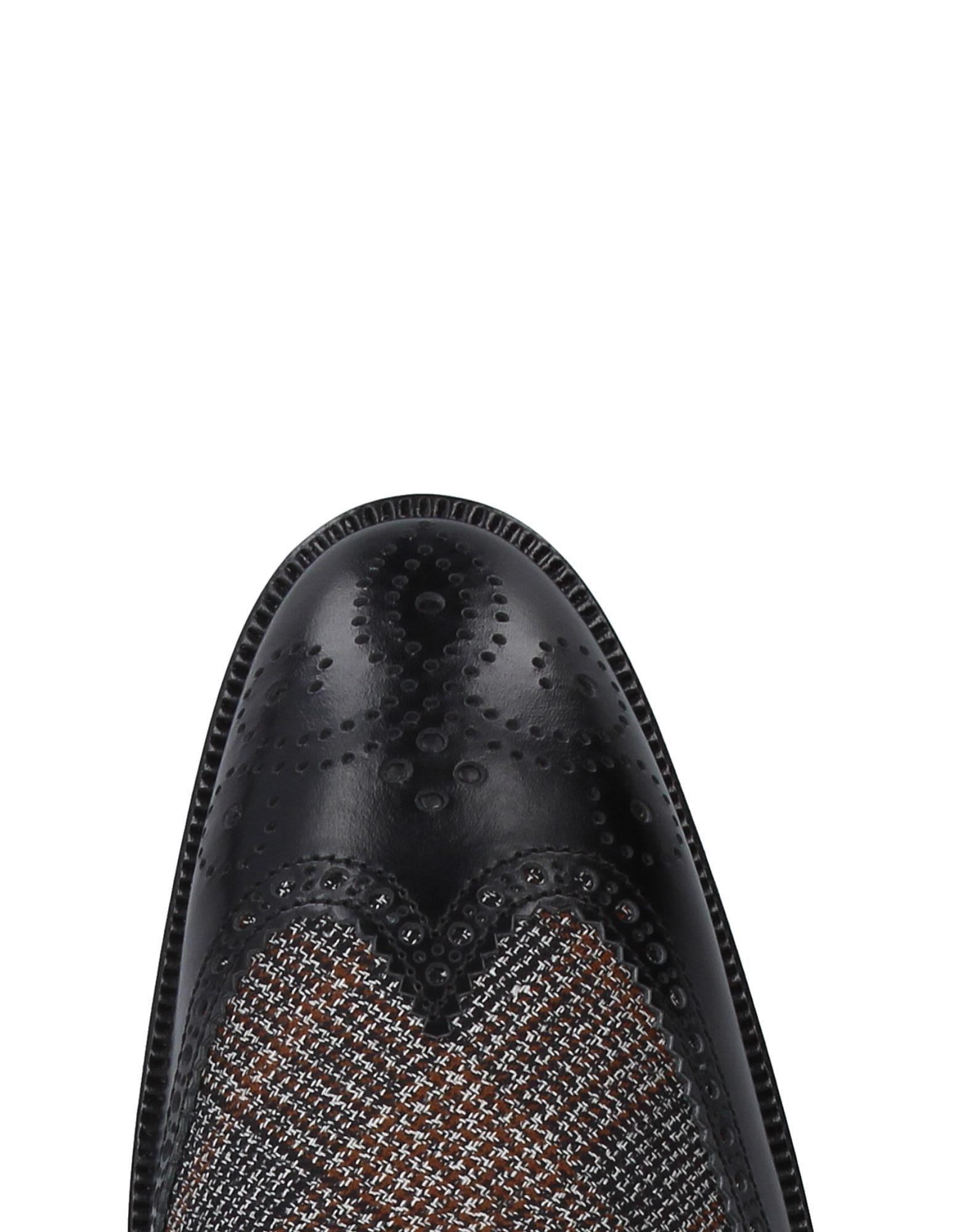 Etro Leather Lace-up Shoe in Black for Men