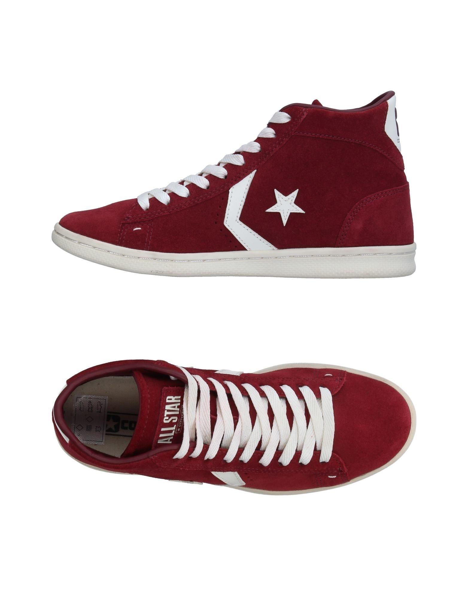 Converse High-tops & Sneakers in Red for Men - Save 44%   Lyst