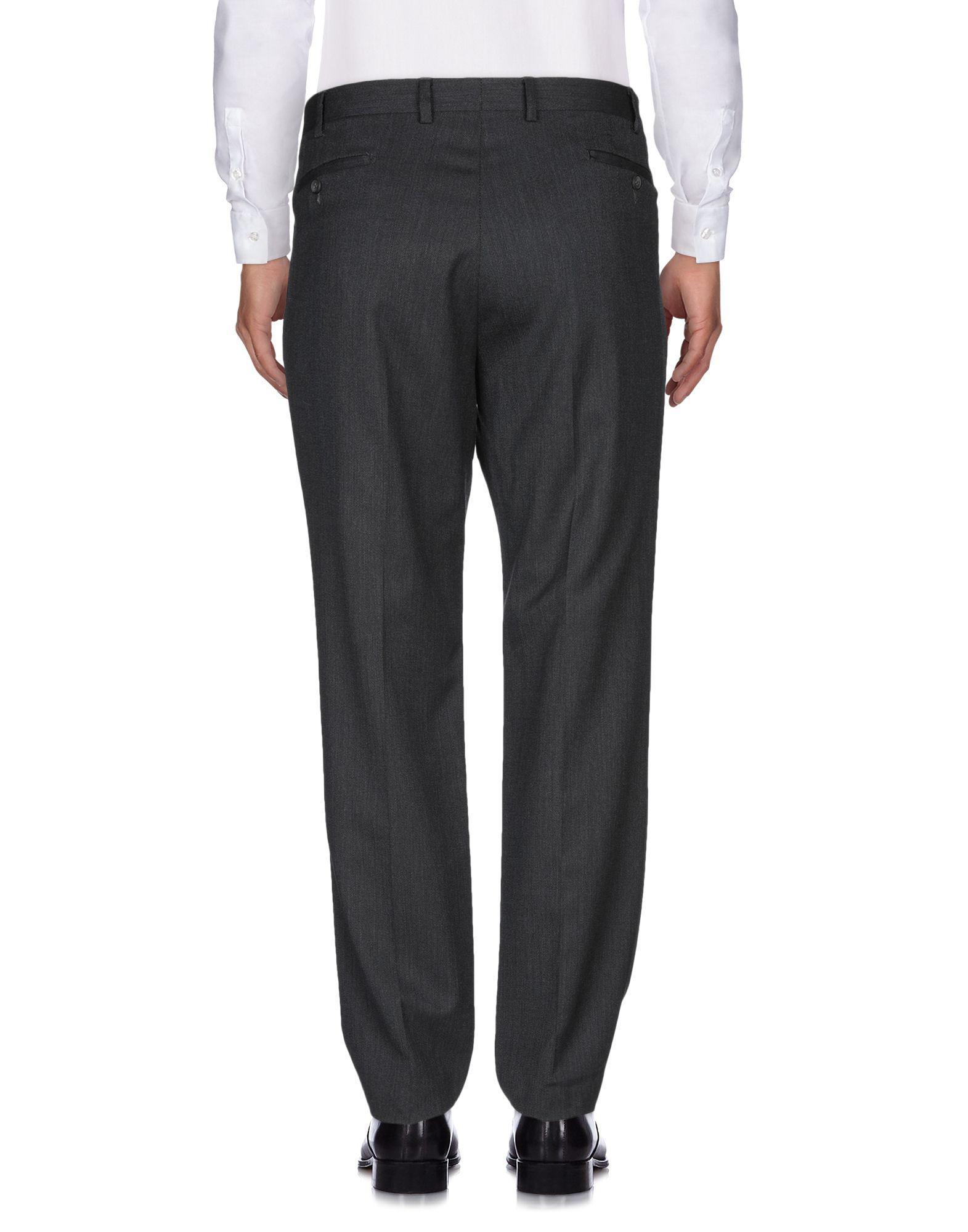 F E L L A. Wool Casual Pants in Steel Grey (Grey) for Men