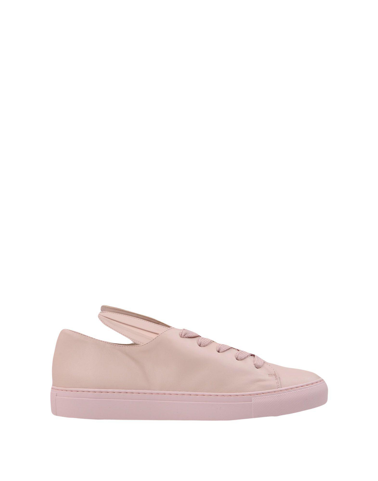 Minna Parikka Leather Low-tops & Sneakers in Light Pink (Pink)