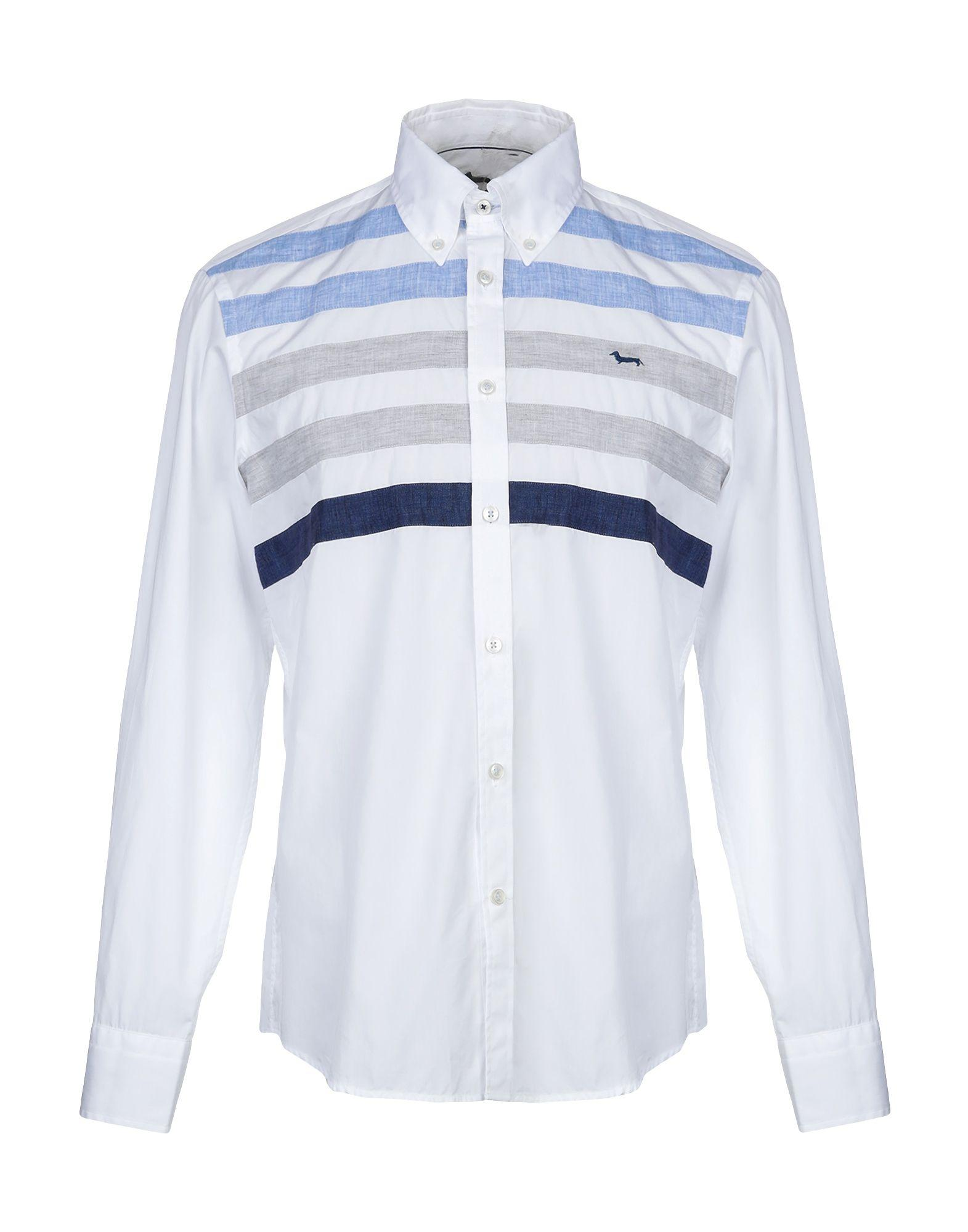 bb926a06a Harmont & Blaine Shirt in Blue for Men - Lyst