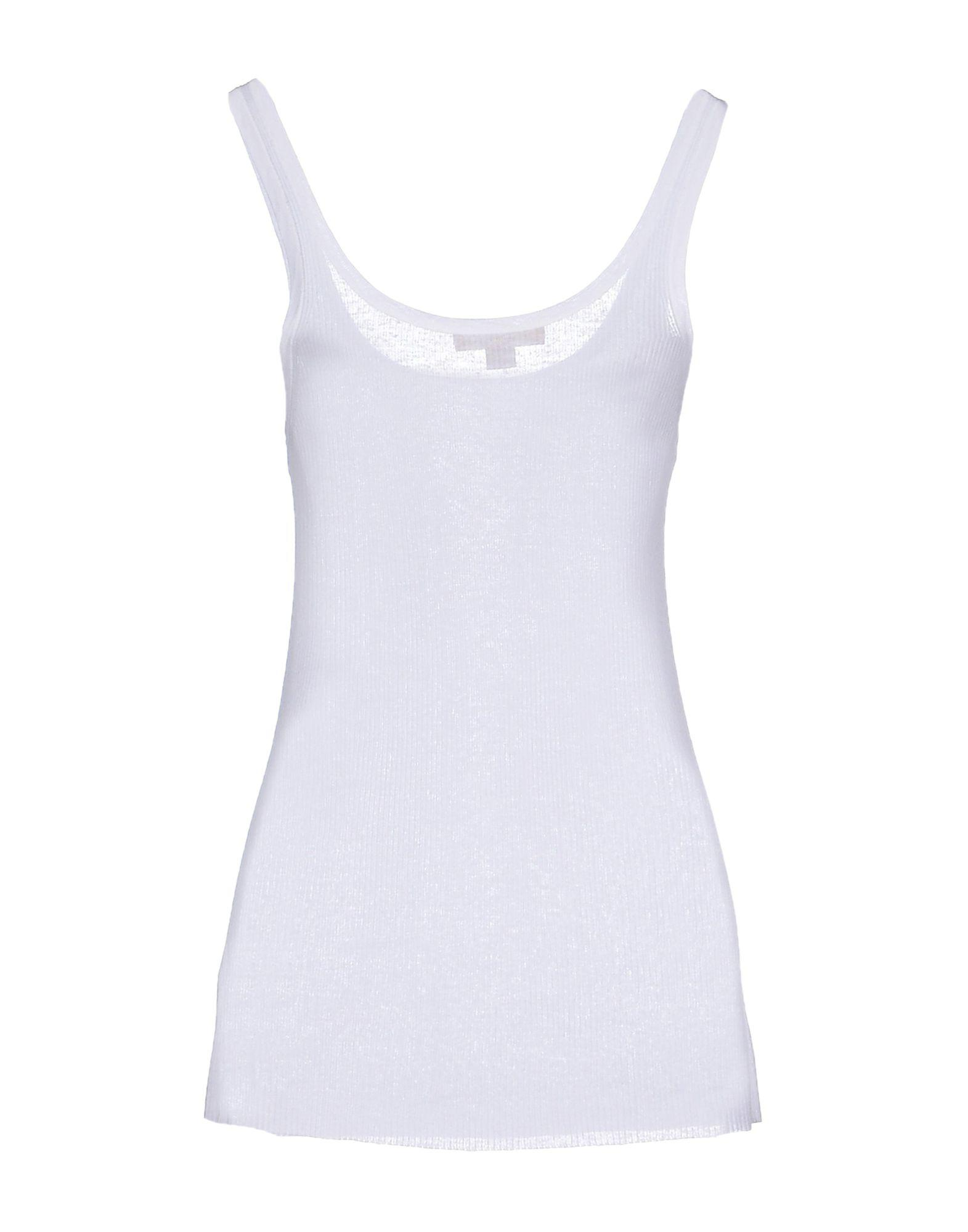 a1aa6051a2b91 Lyst - Michael Kors Vest in White