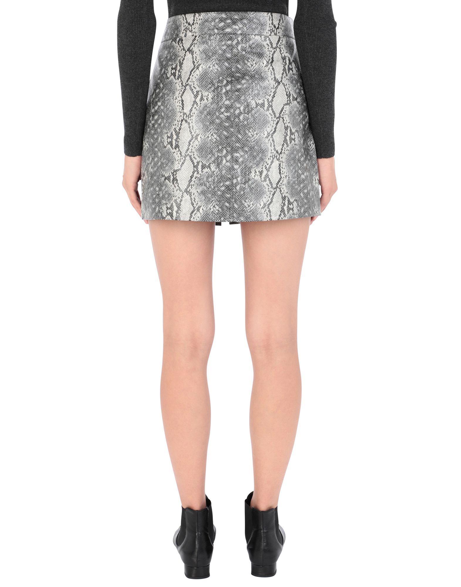 Mini-jupe AllSaints en coloris Gris