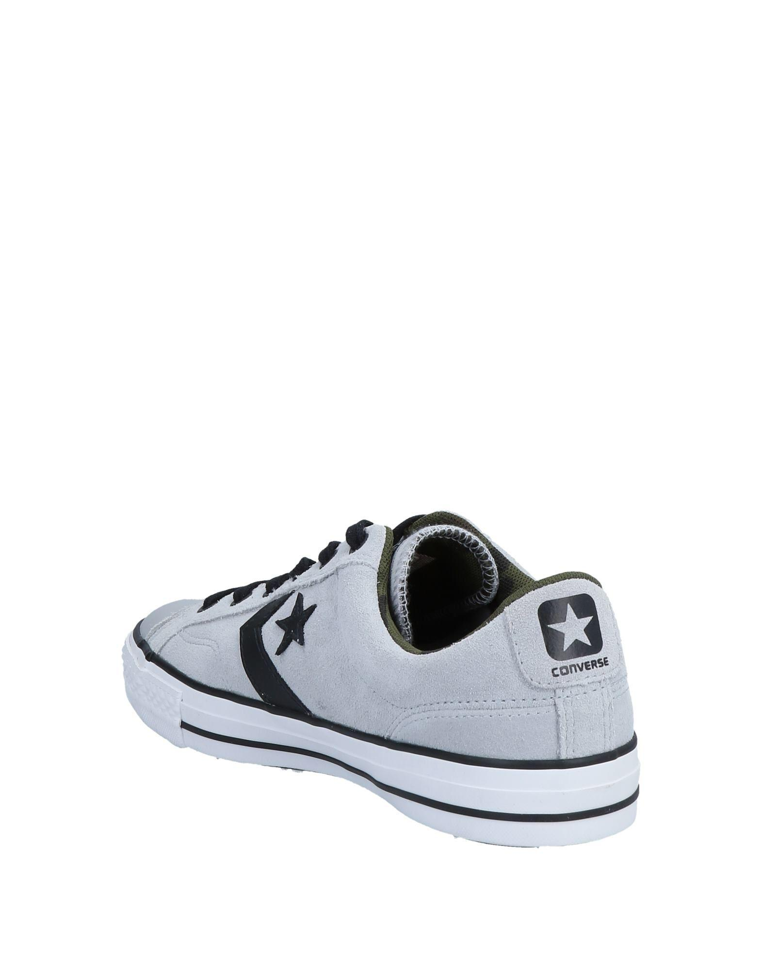 04fb6a484493 Converse Low-tops   Sneakers in Gray for Men - Lyst