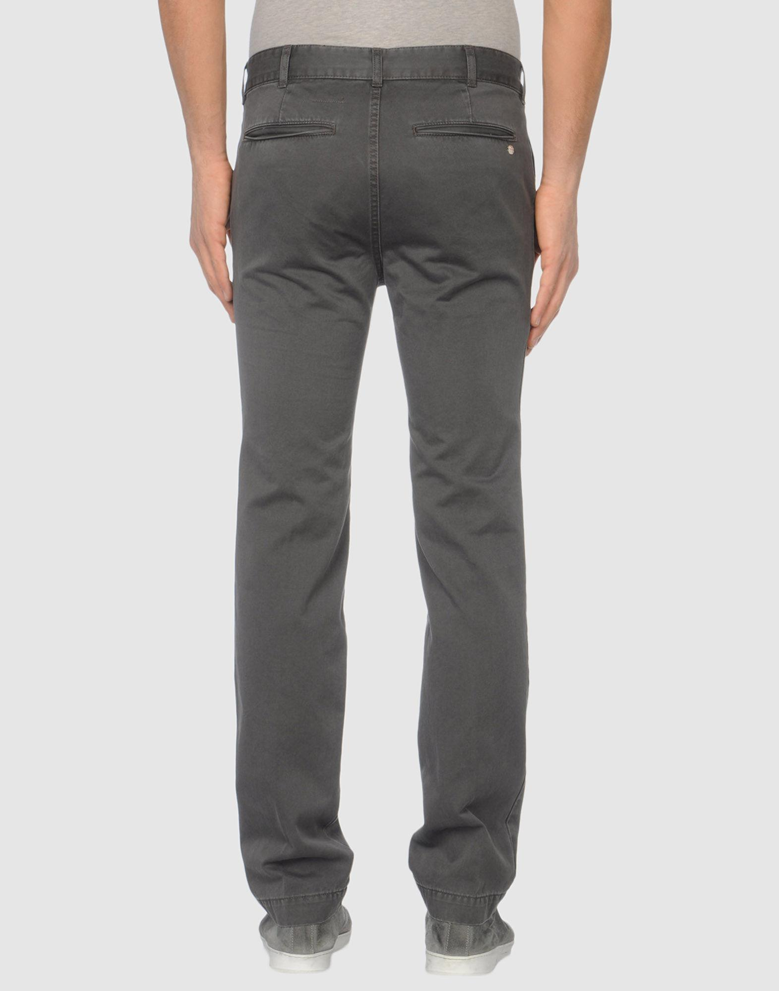Mauro Grifoni Cotton Casual Trouser in Grey (Grey) for Men