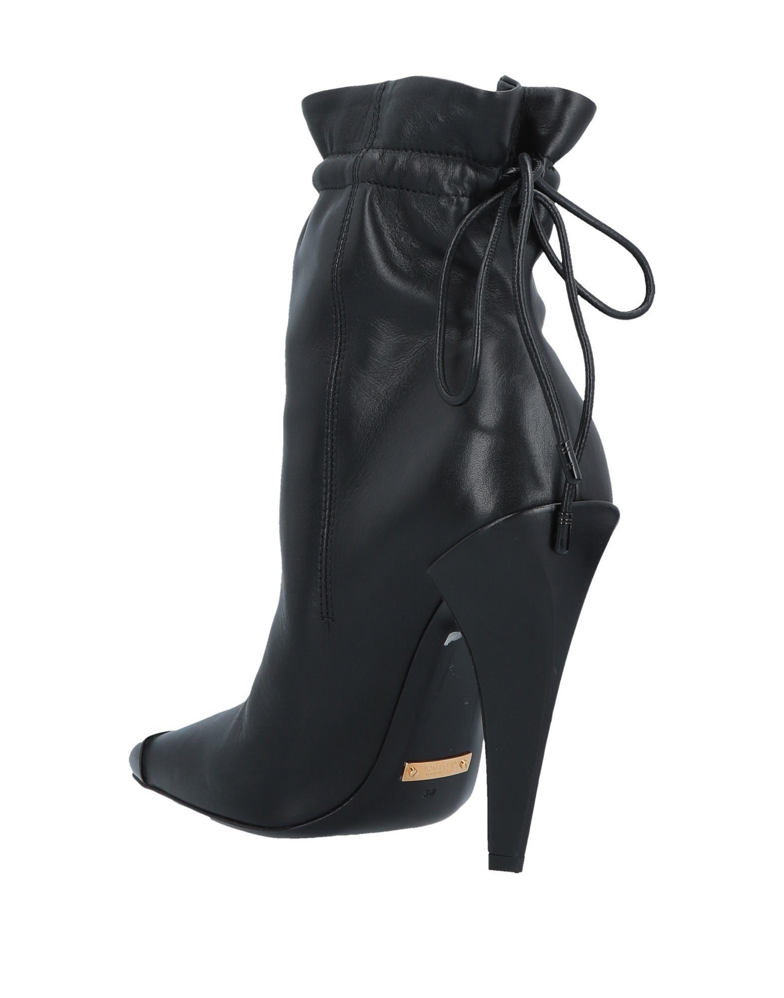 Botines de caña alta Tom Ford de color Negro