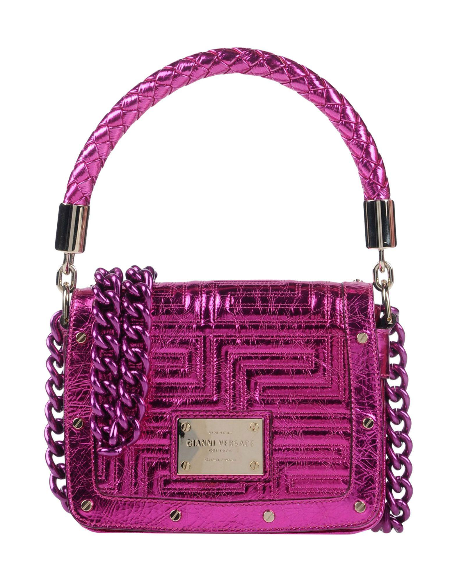 Versace Handbag in Purple - Lyst efc73c483db3b