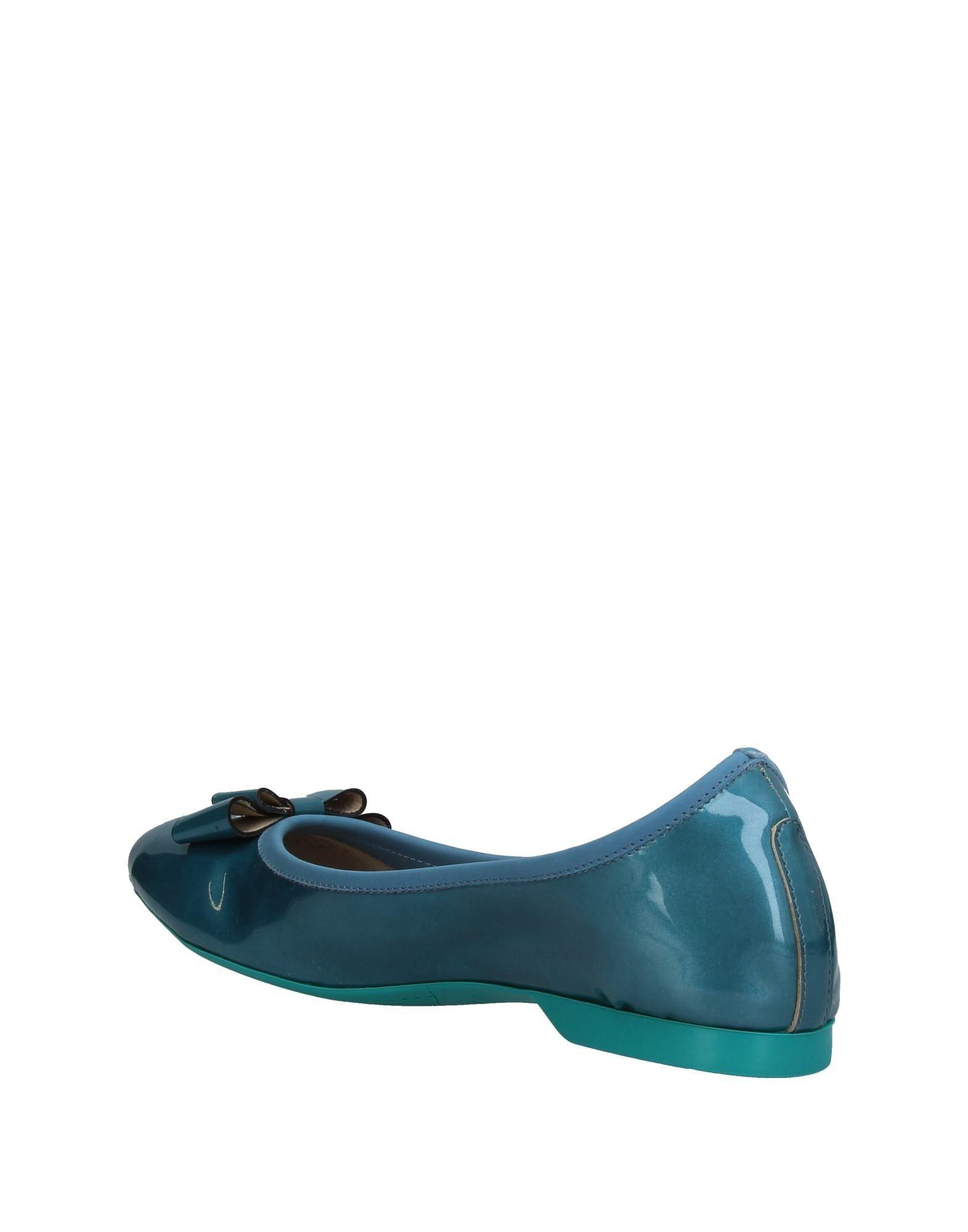 in in in Flats Gianmarco Blue Lyst Lyst Lyst Ballet lorenzi wqttp1FU